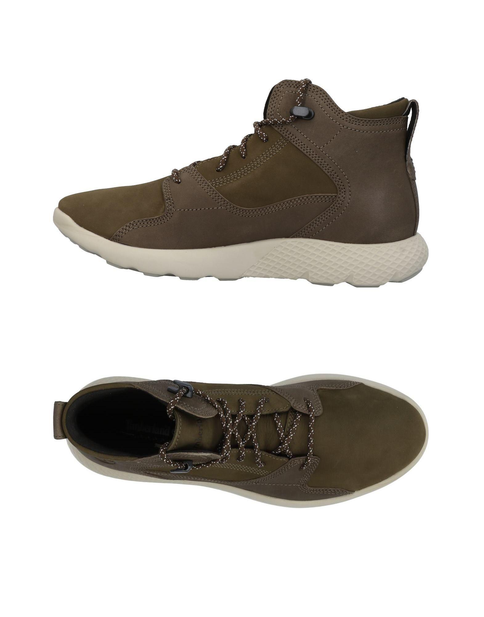 Timberland Sneakers In Military Green