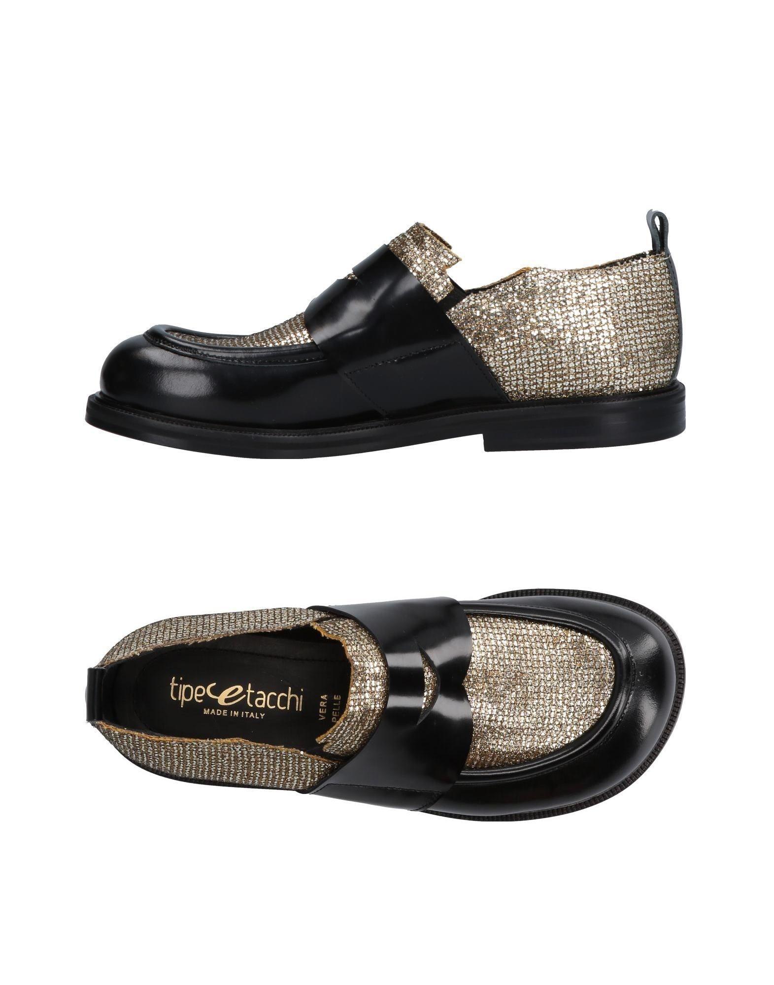 Tipe E Tacchi Loafers In Black