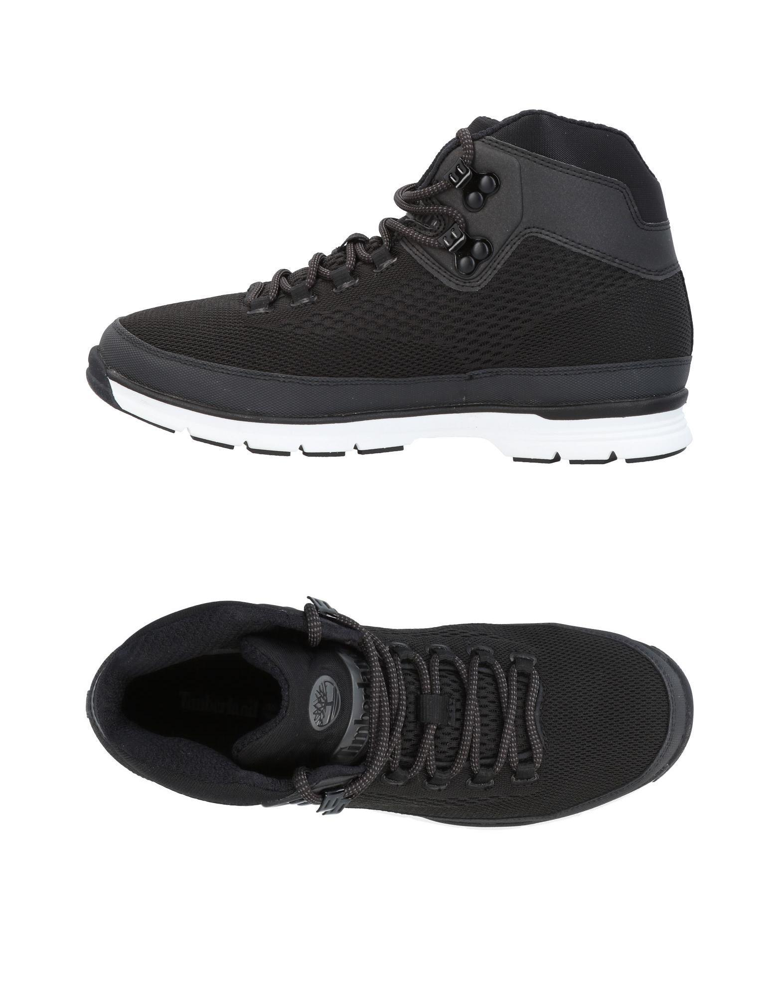 Timberland Sneakers In Black