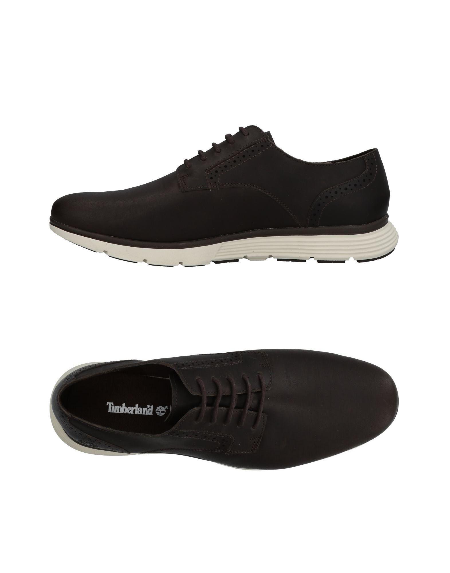Timberland Sneakers In Dark Brown