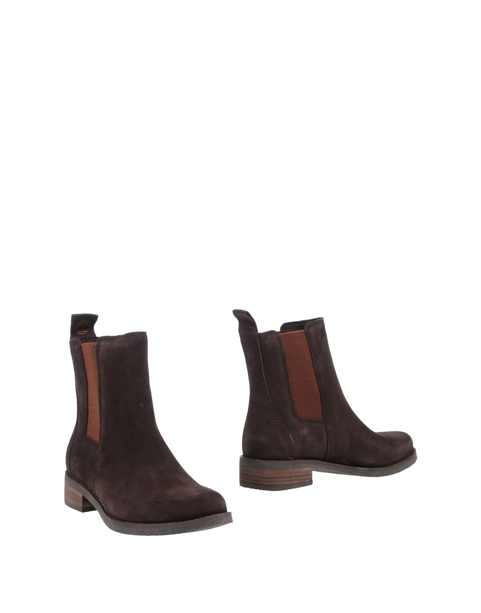 Timberland Ankle Boot In Cocoa