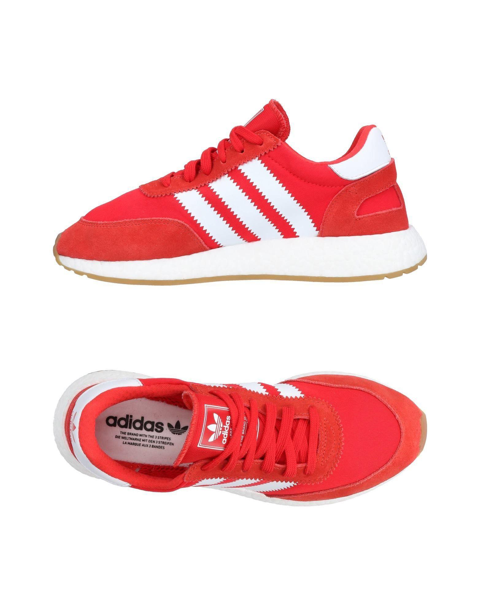 Adidas Originals Sneakers In Red