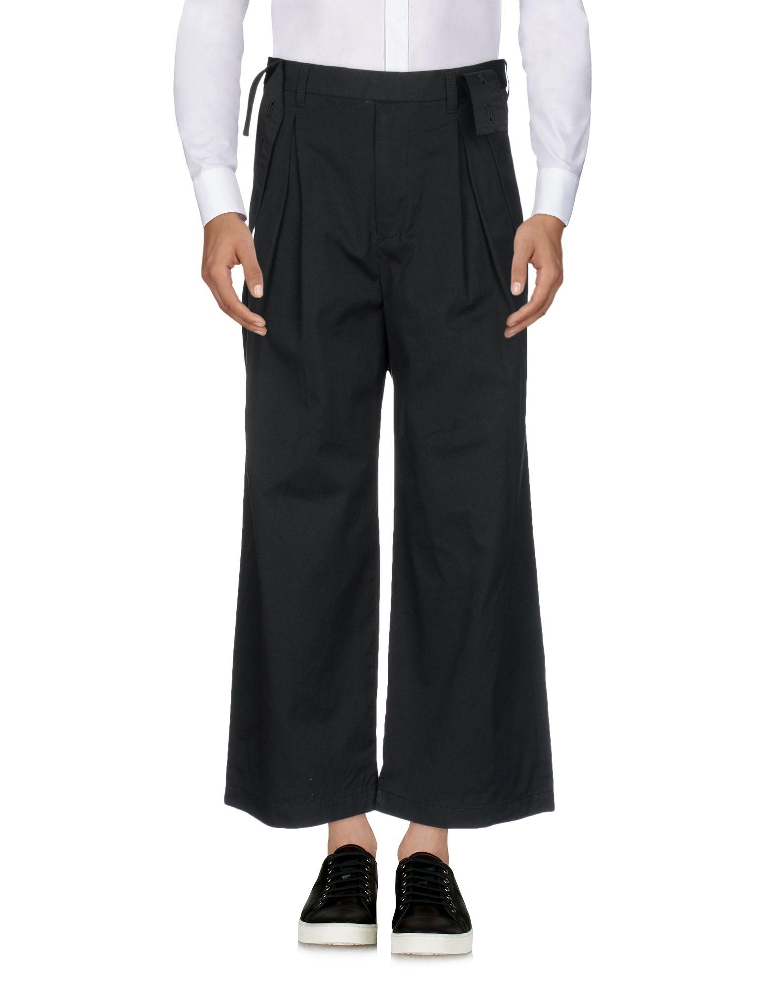 White Mountaineering Casual Pants In Black