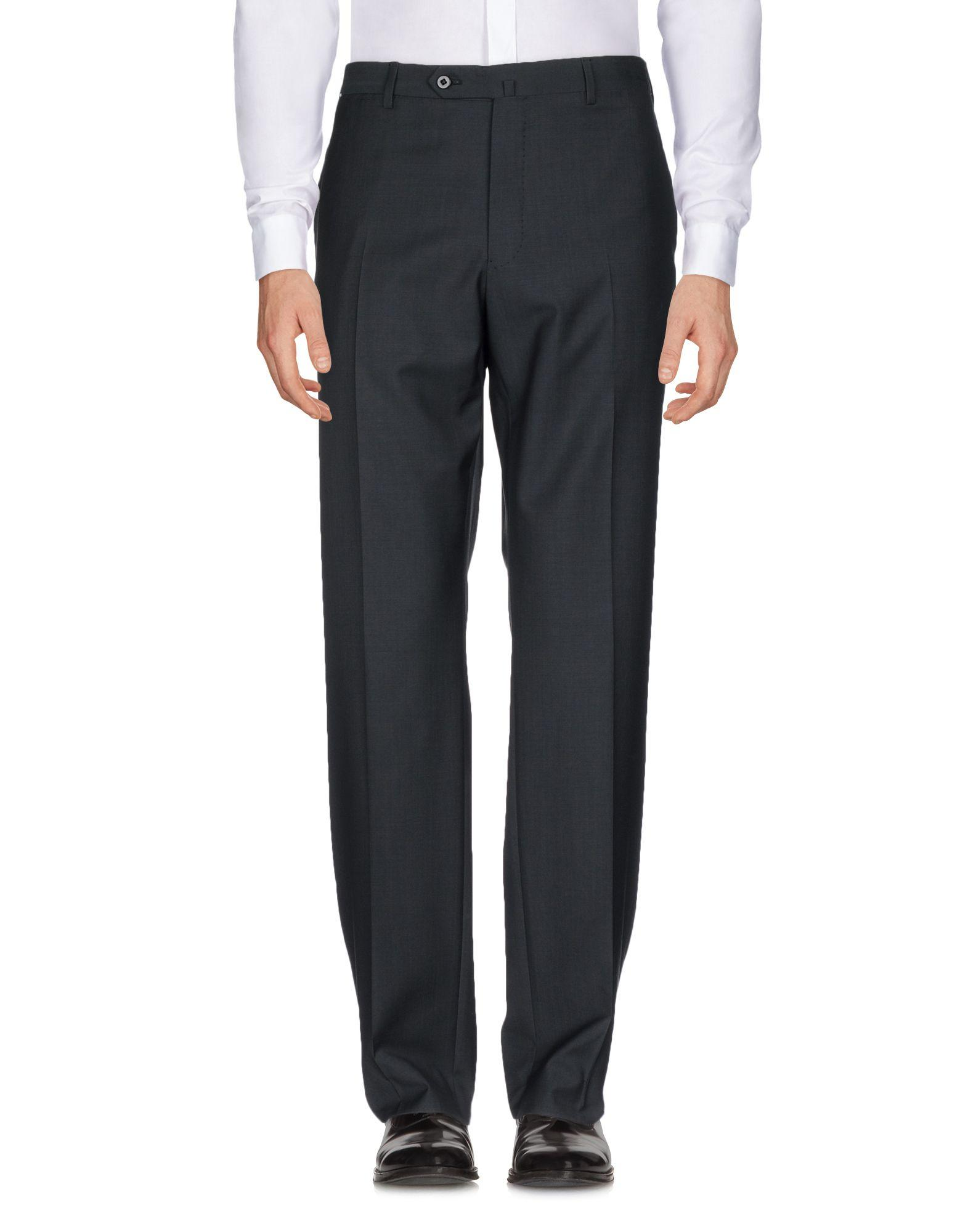 Ermenegildo Zegna Casual Pants In Steel Grey