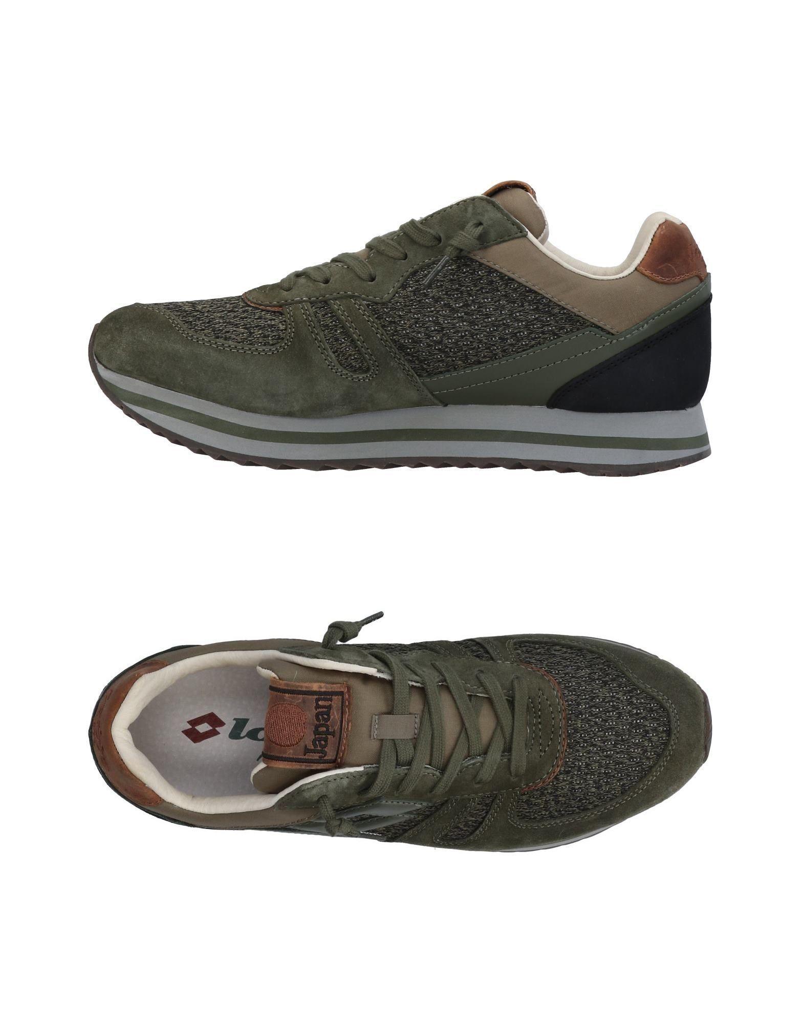 Lotto Leggenda Sneakers In Military Green