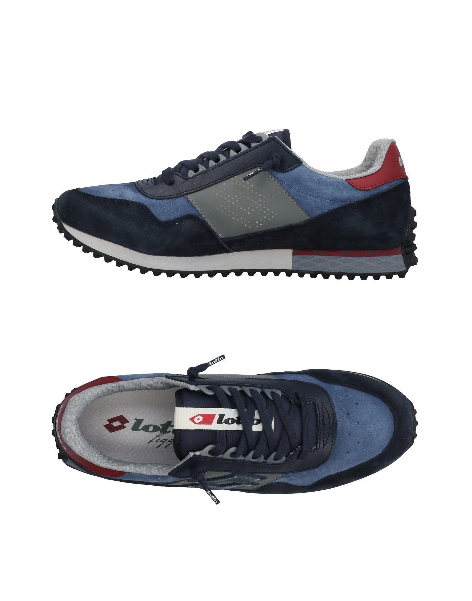 Lotto Leggenda Sneakers In Slate Blue