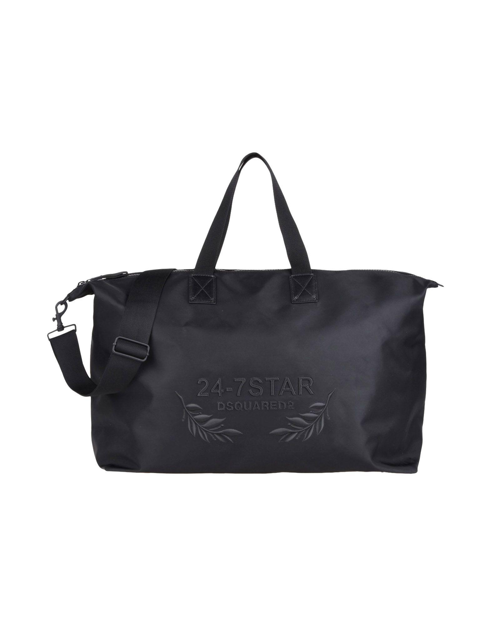 Dsquared2 Travel & Duffel Bag In Black