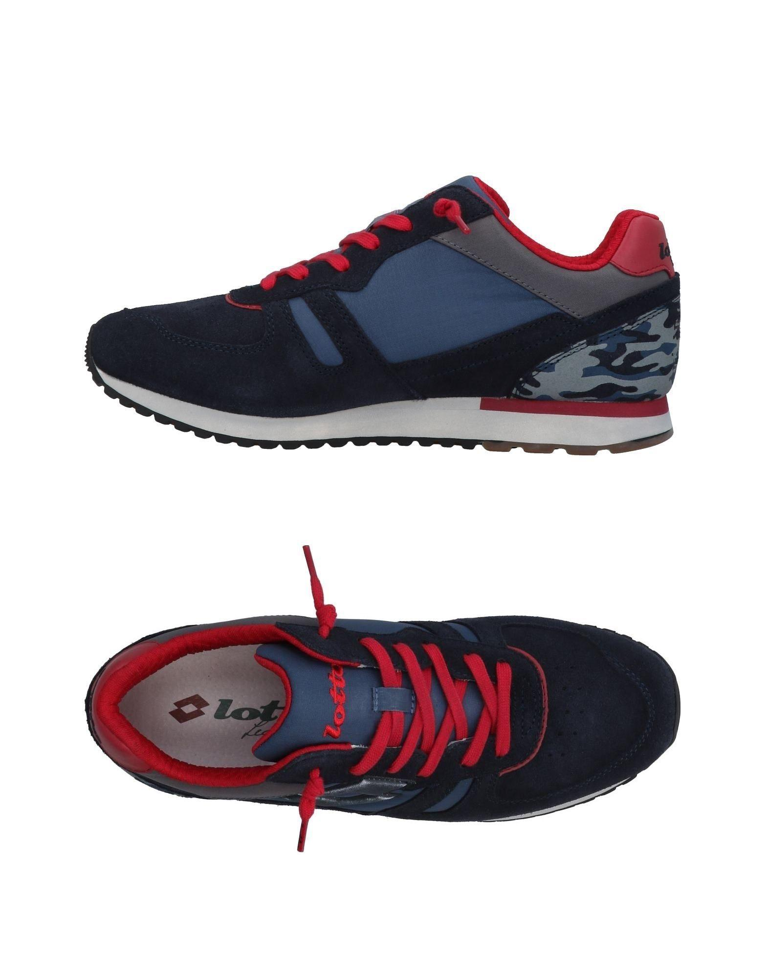 Lotto Leggenda Sneakers In Dark Blue