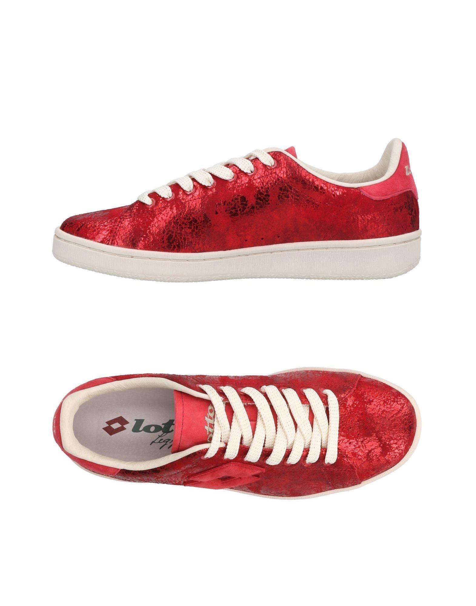 Lotto Leggenda Sneakers In Red