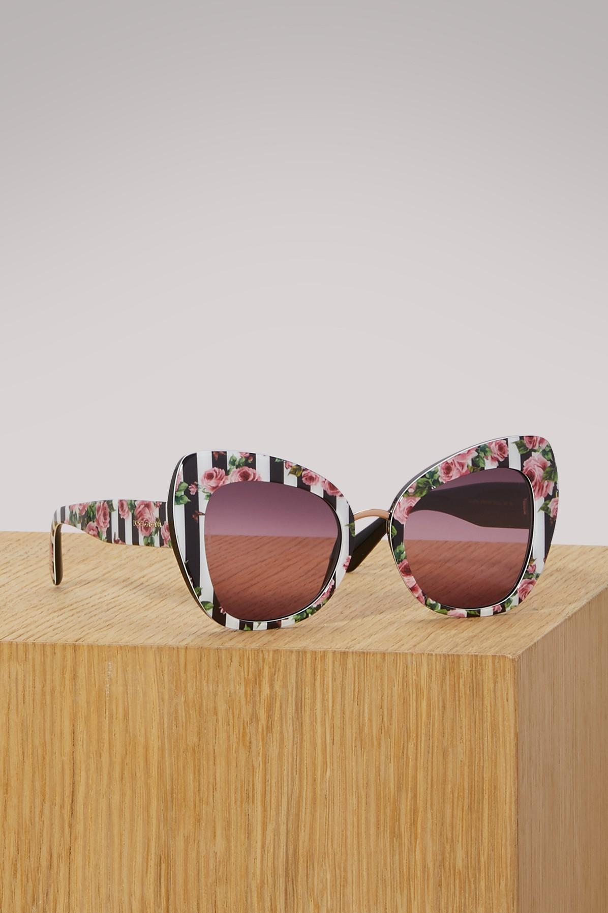 Dolce & Gabbana Graffiti Sunglasses