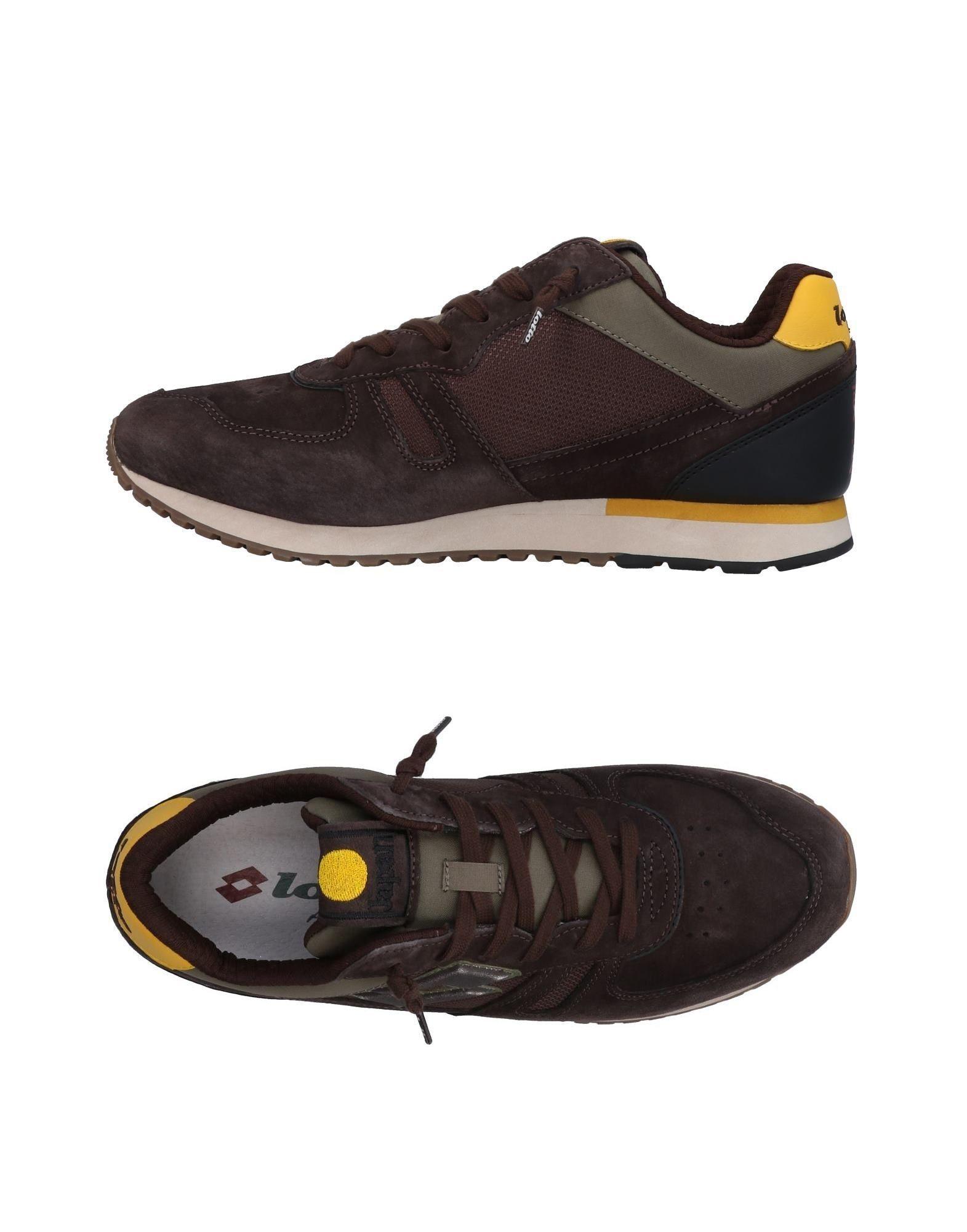 Lotto Leggenda Sneakers In Dark Brown