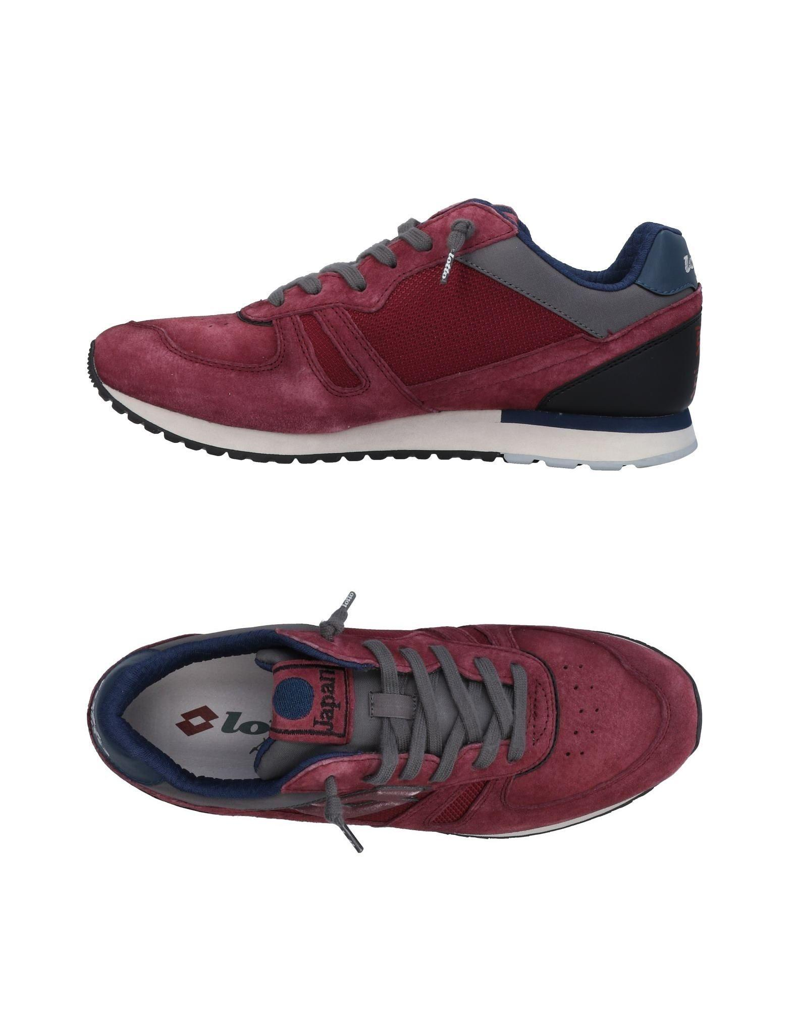Lotto Leggenda Sneakers In Garnet