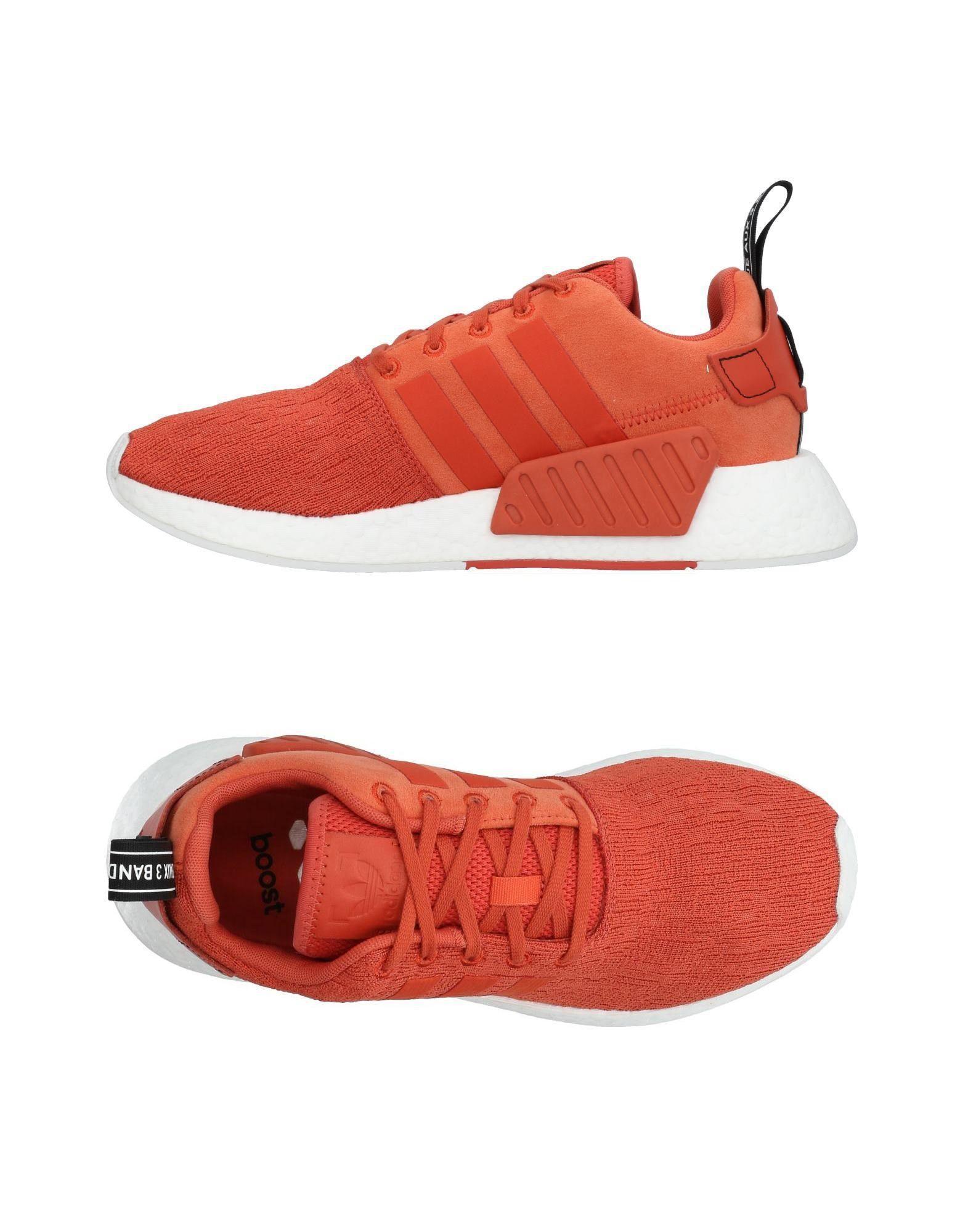 Adidas Originals Sneakers In Orange