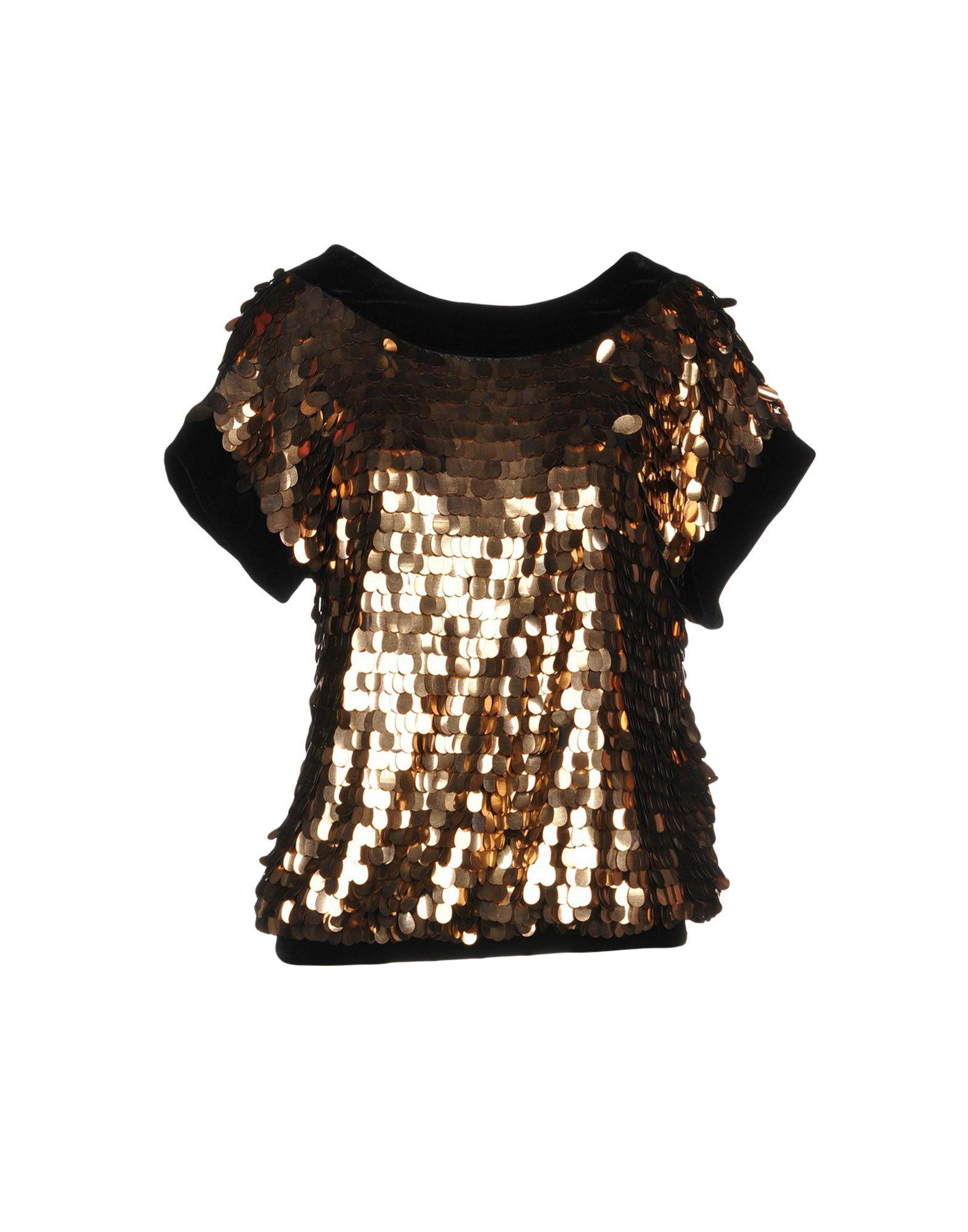 Red Valentino Blouse In Bronze