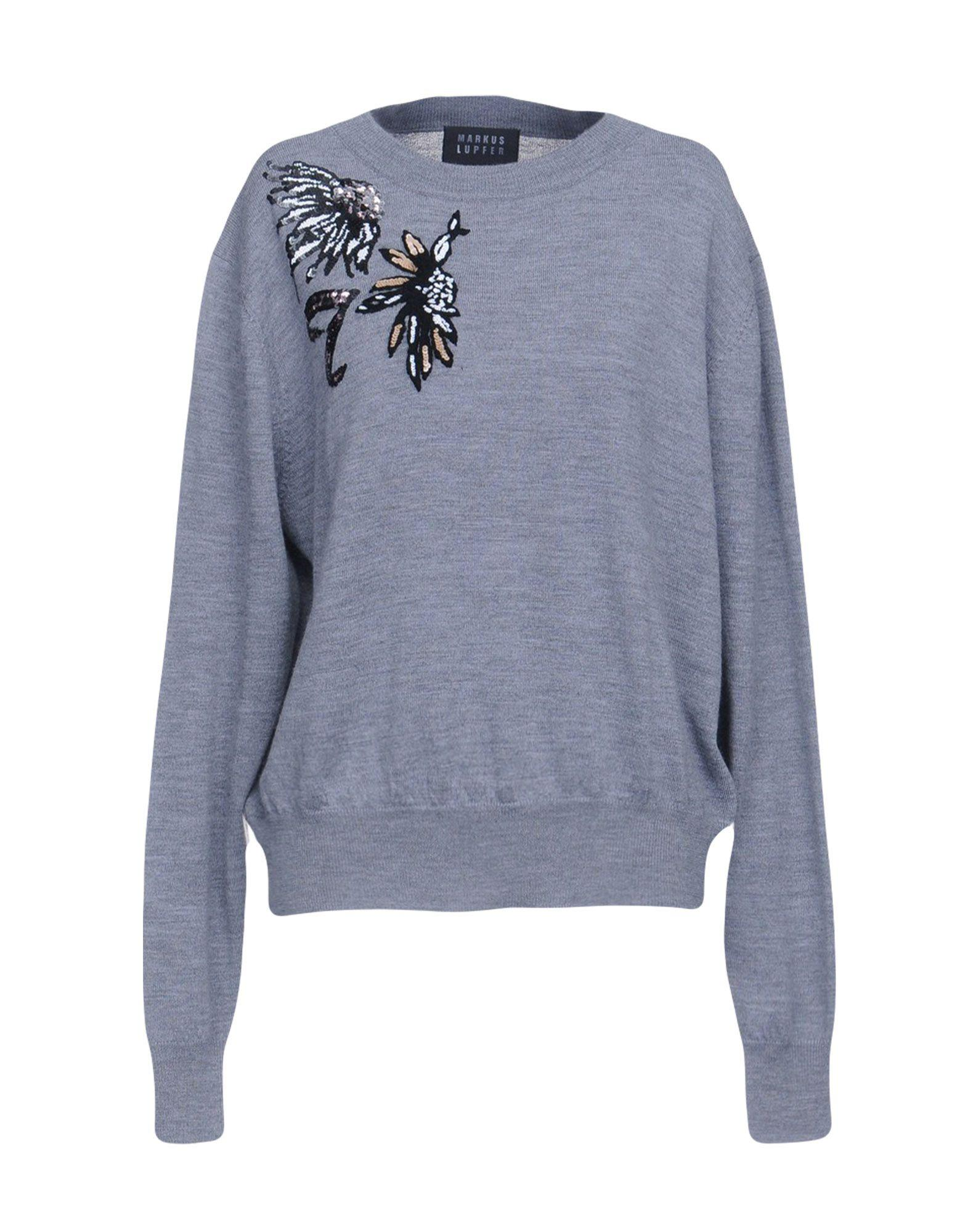 Markus Lupfer Sweater In Grey