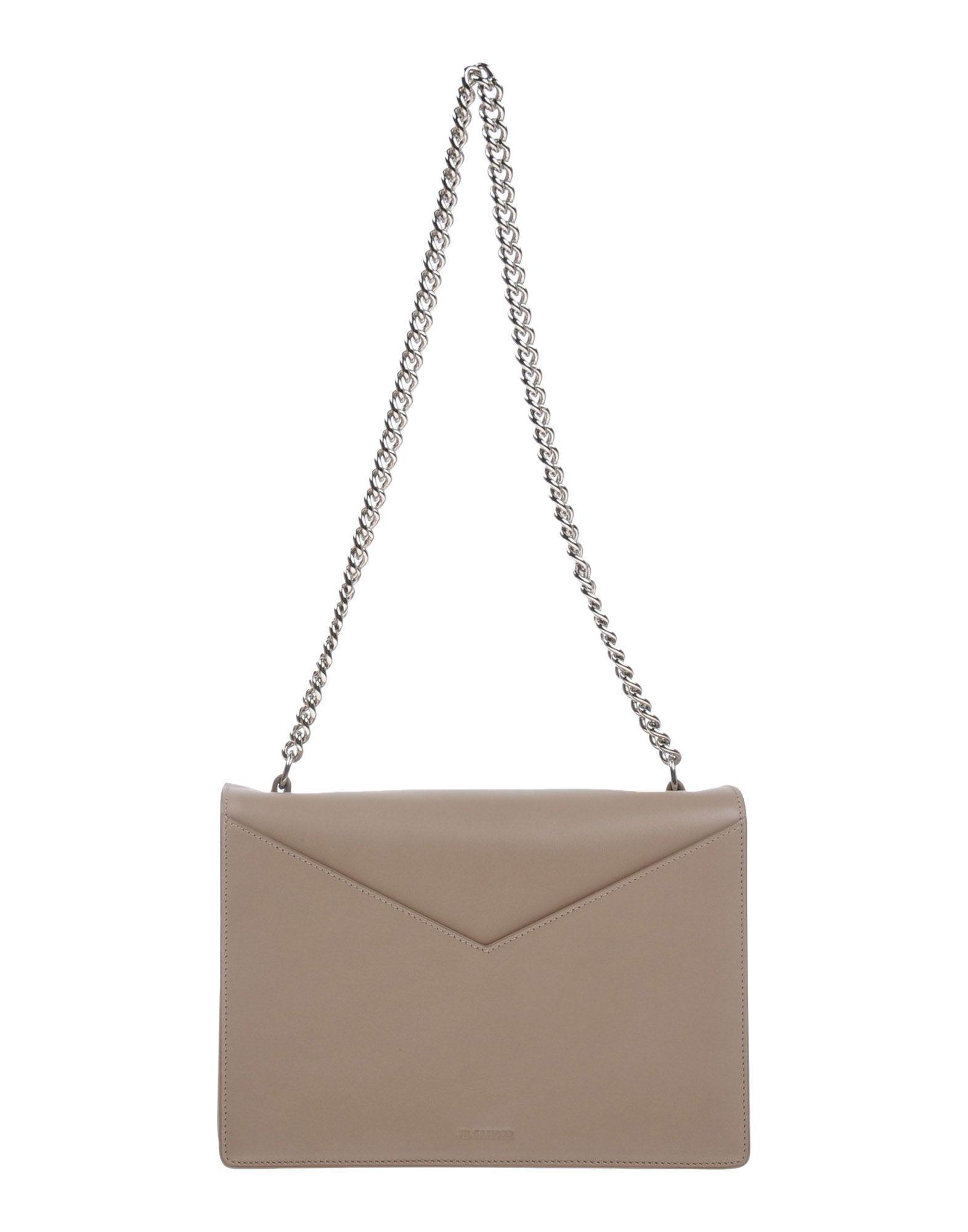 Jil Sander Handbags In Khaki