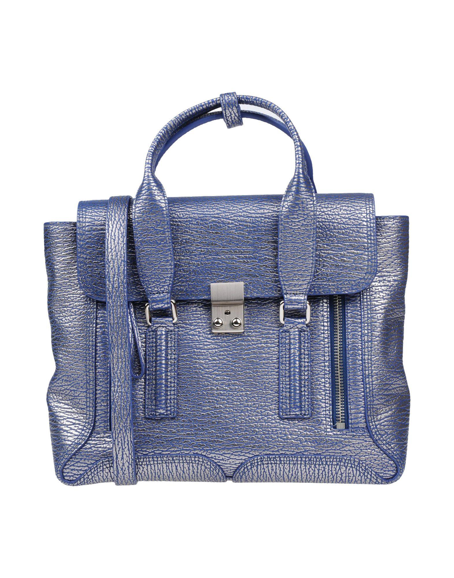 3.1 Phillip Lim Handbags In Dark Blue