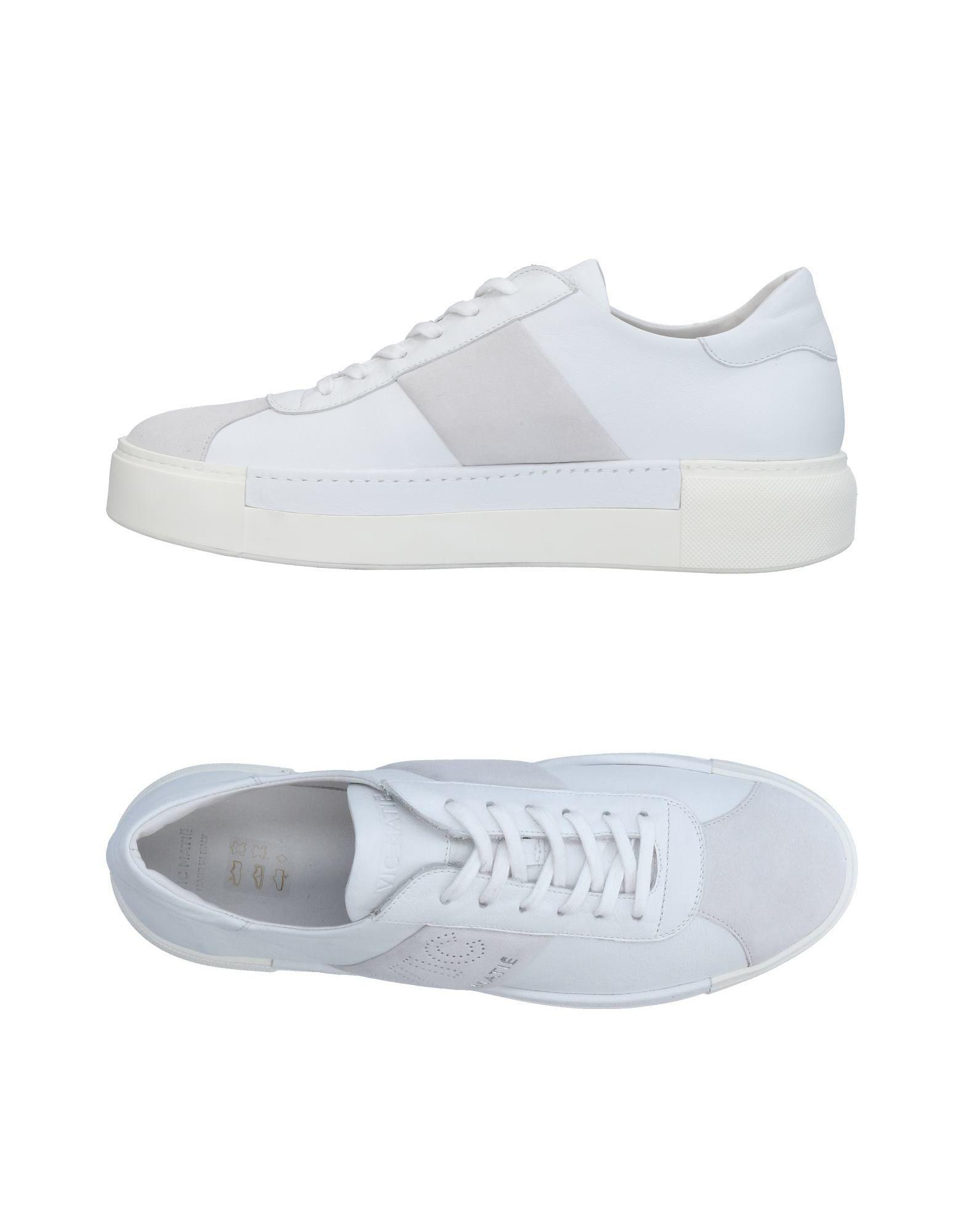 Vic Matie Sneakers In White