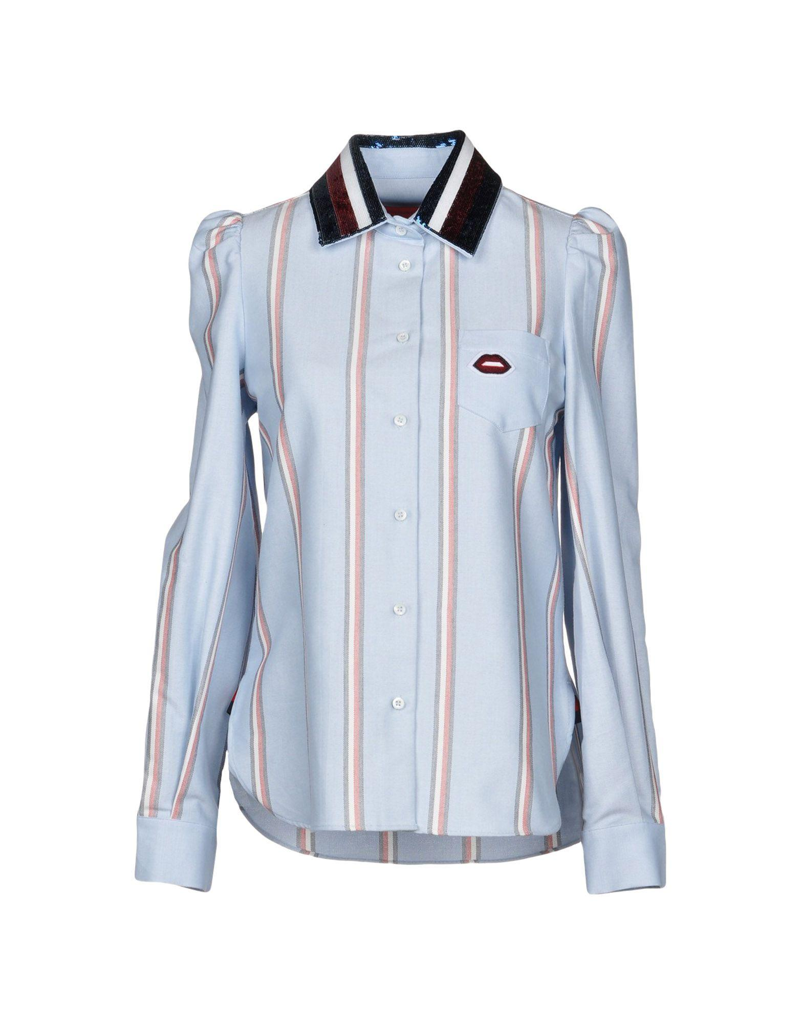 Tommy Hilfiger Shirts In Sky Blue