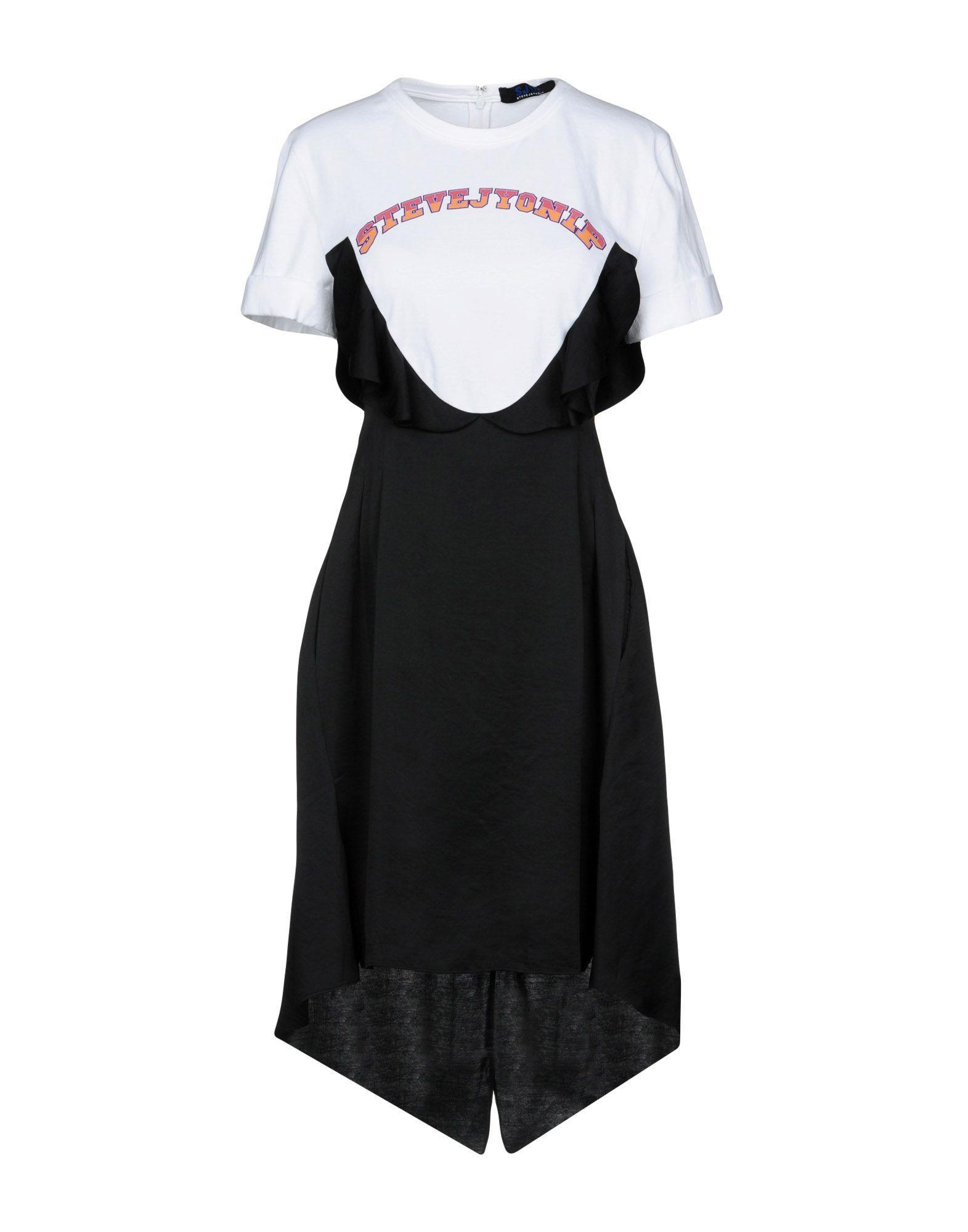 Sjyp Short Dress In White