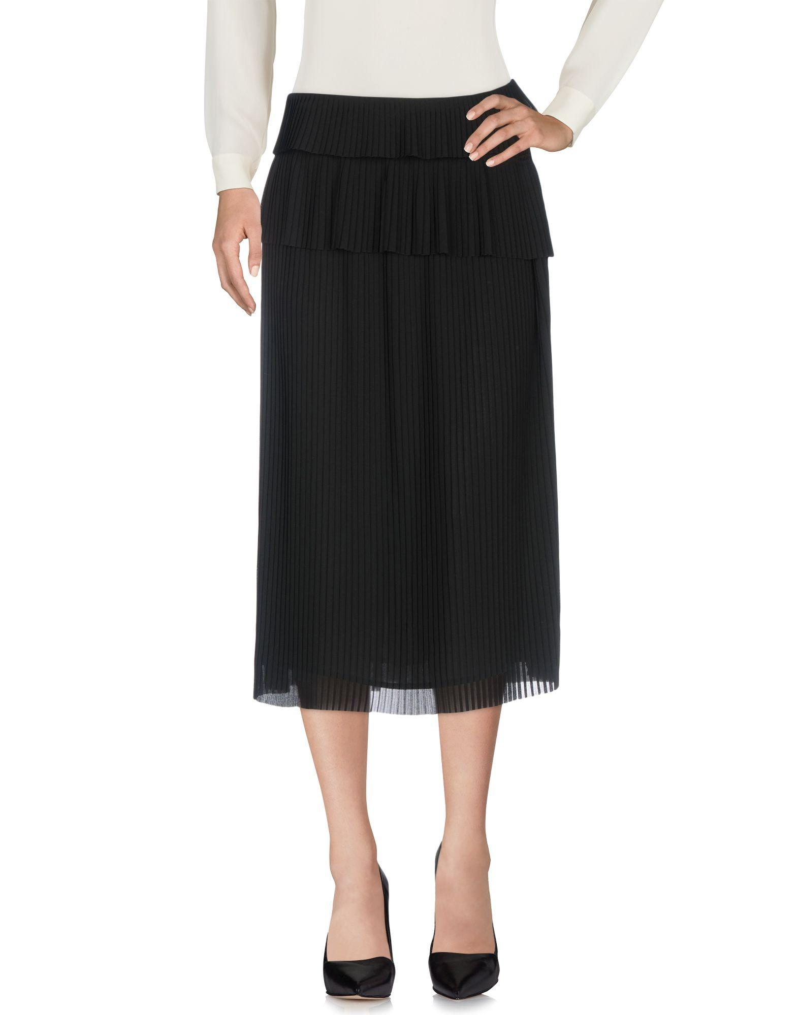 Iro Midi Skirts In Black