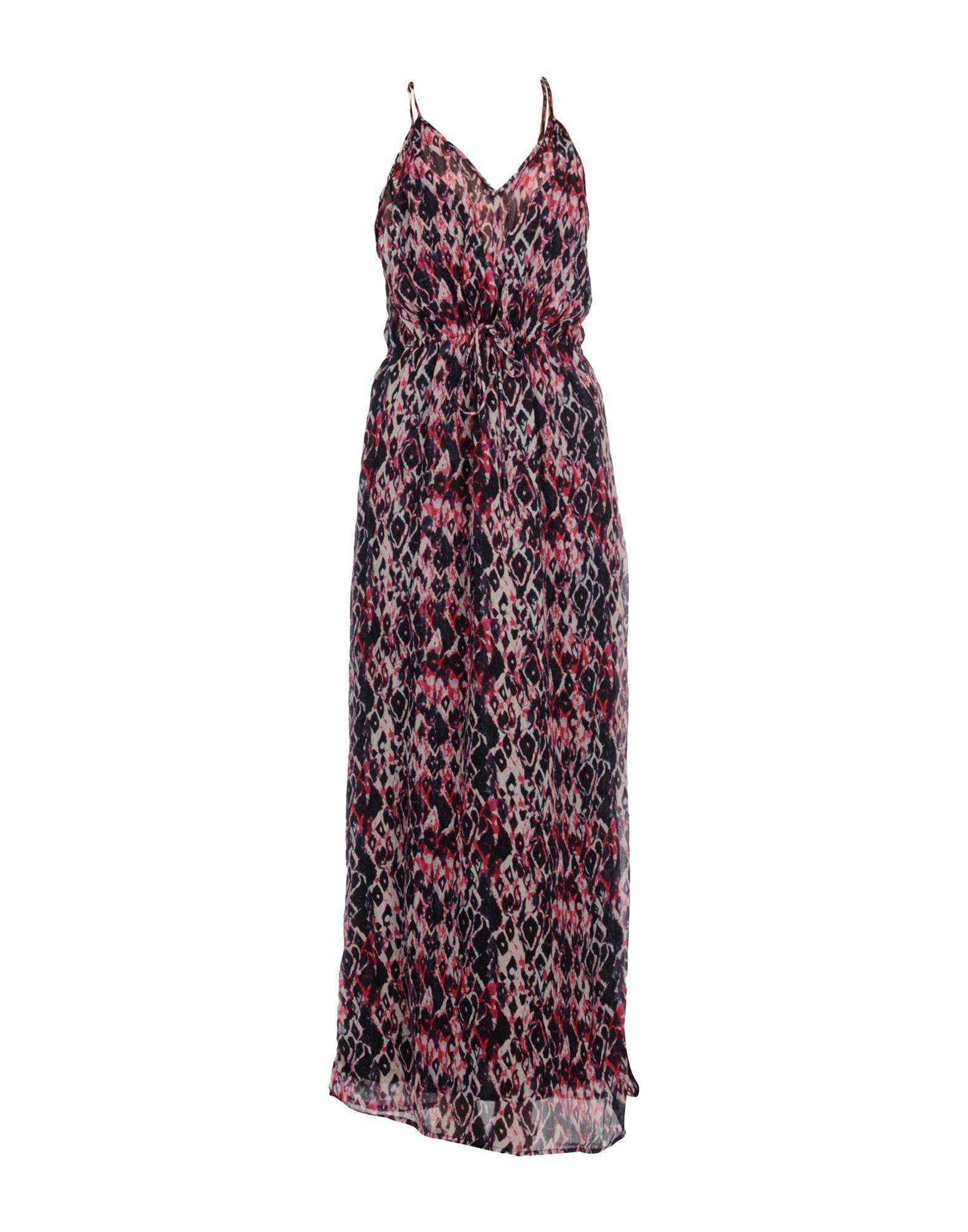 Iro Long Dresses In Fuchsia