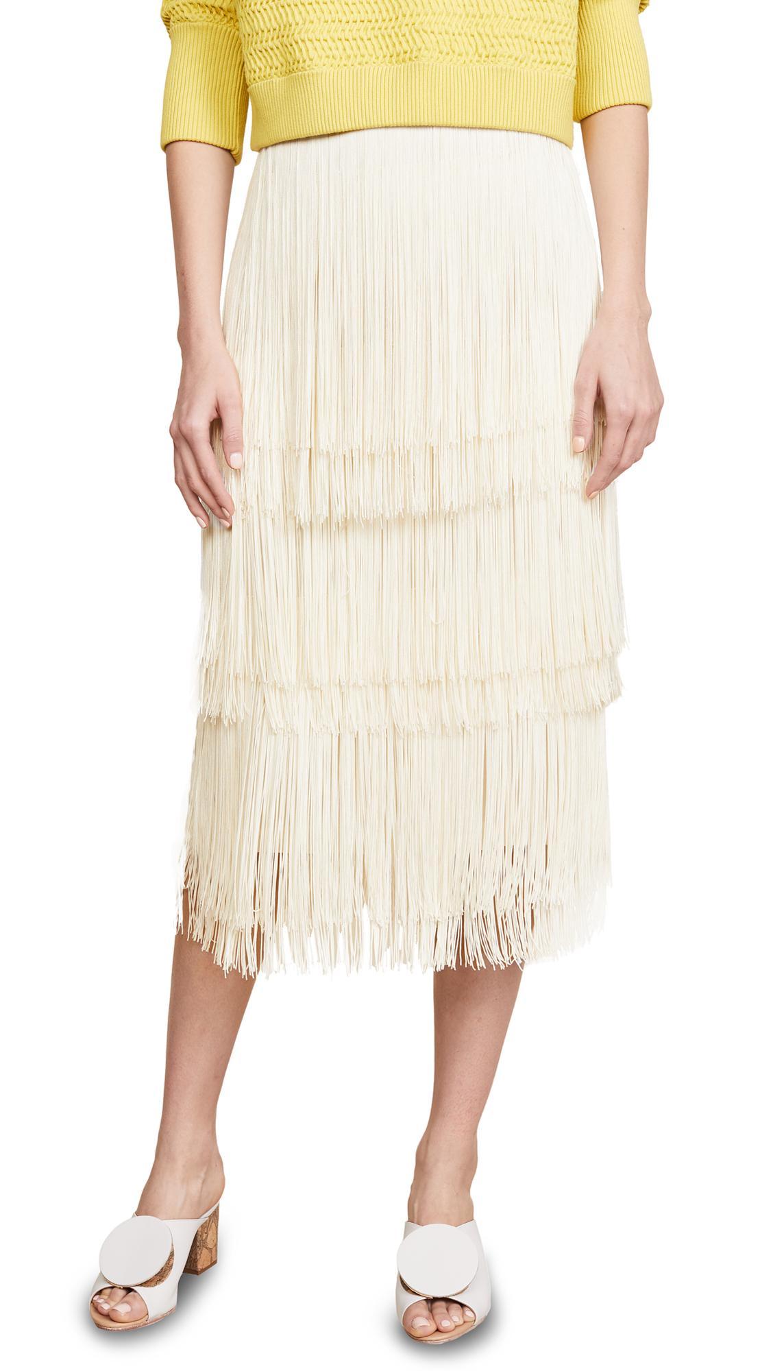 Rachel Comey Gyre Skirt In Ivory