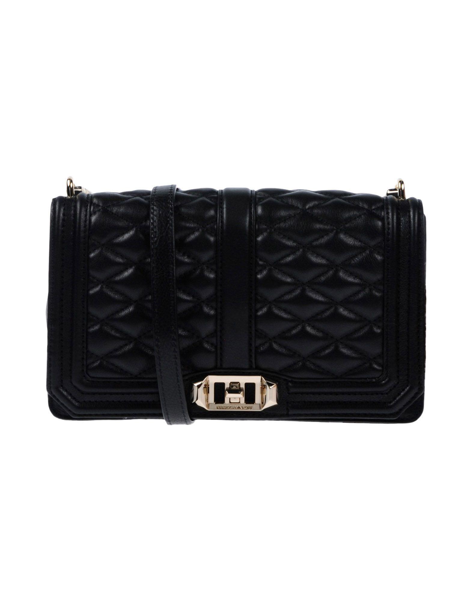 Rebecca Minkoff Handbags In Black