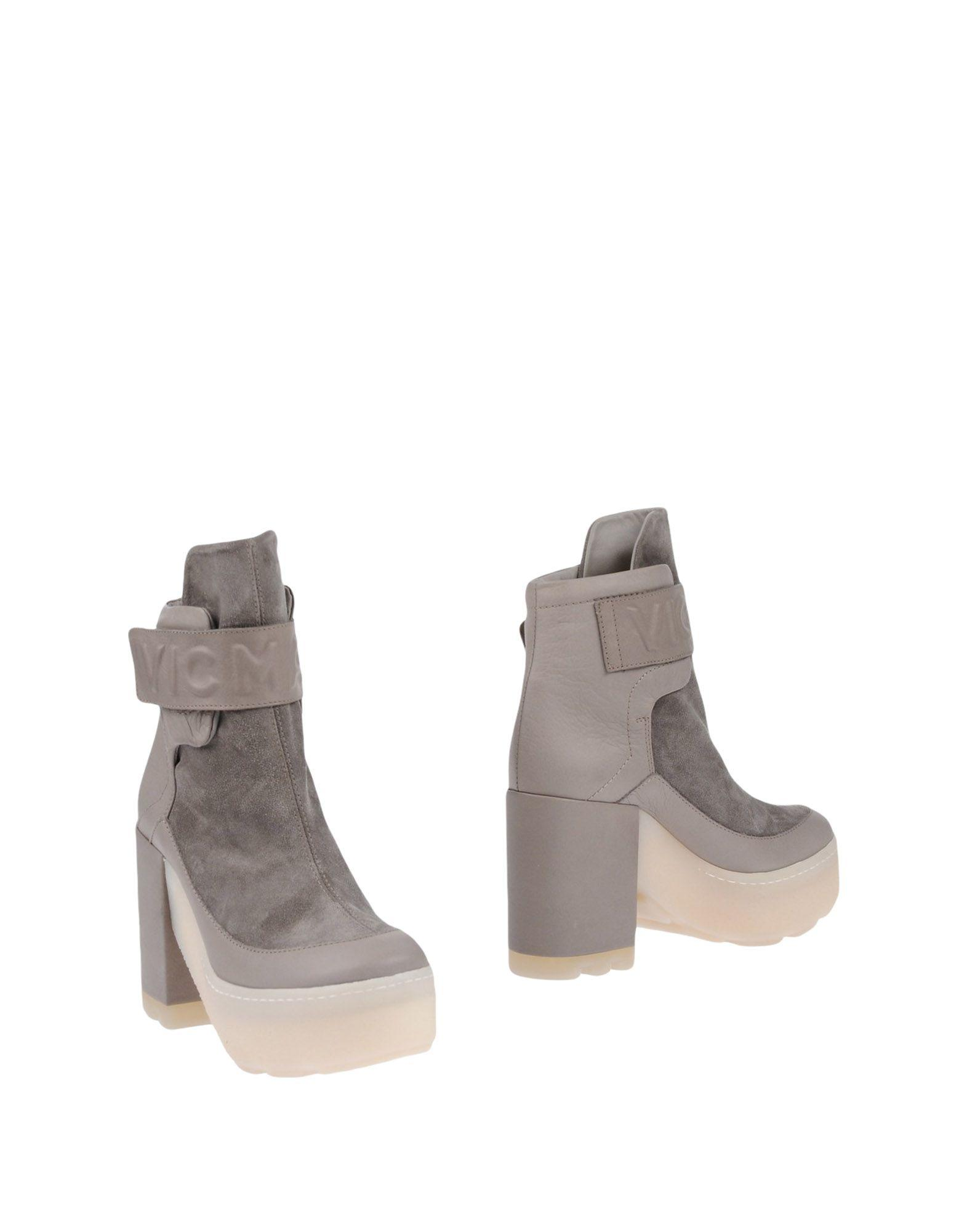Vic Matie Ankle Boots In Grey