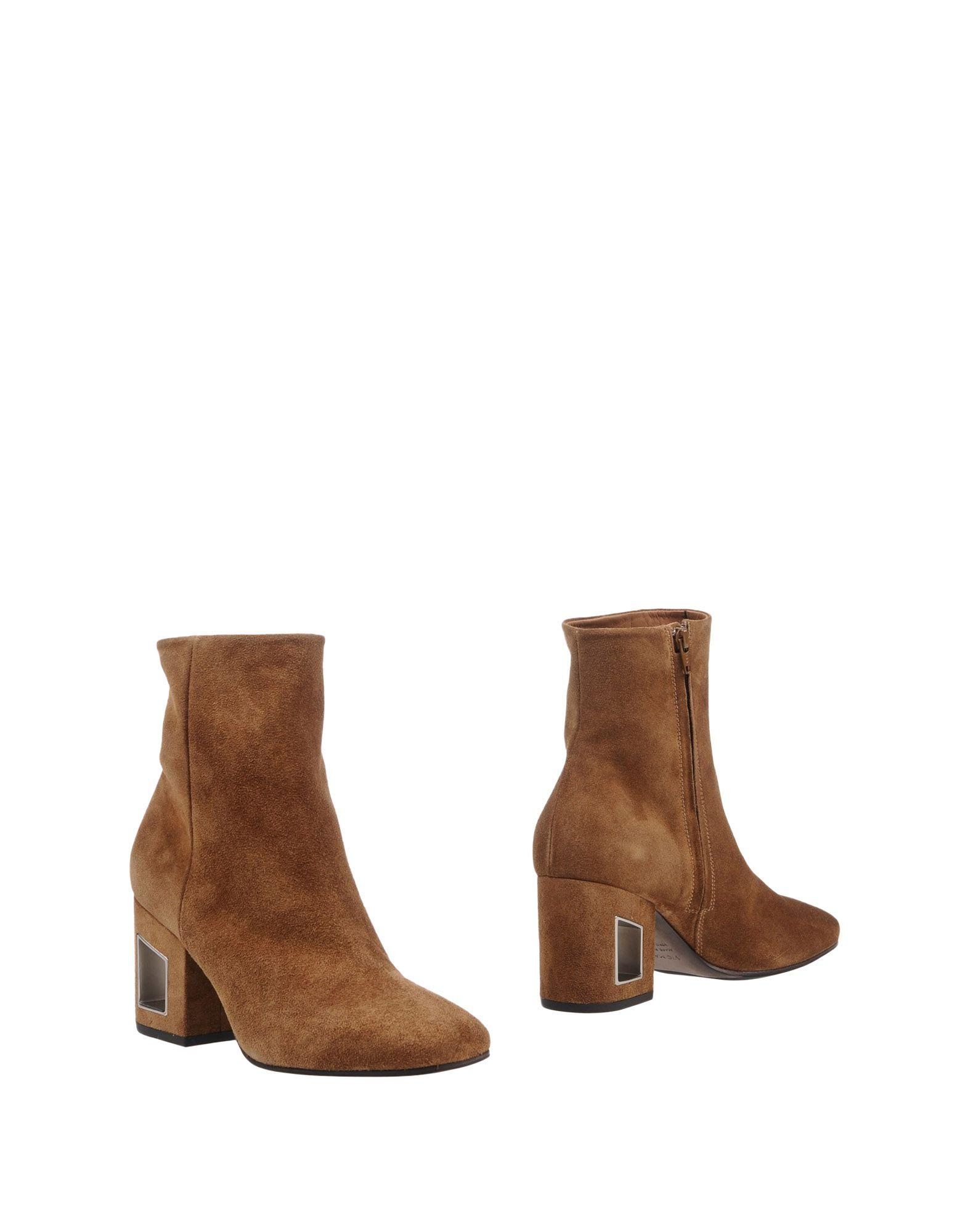 Vic Matie Ankle Boots In Brown