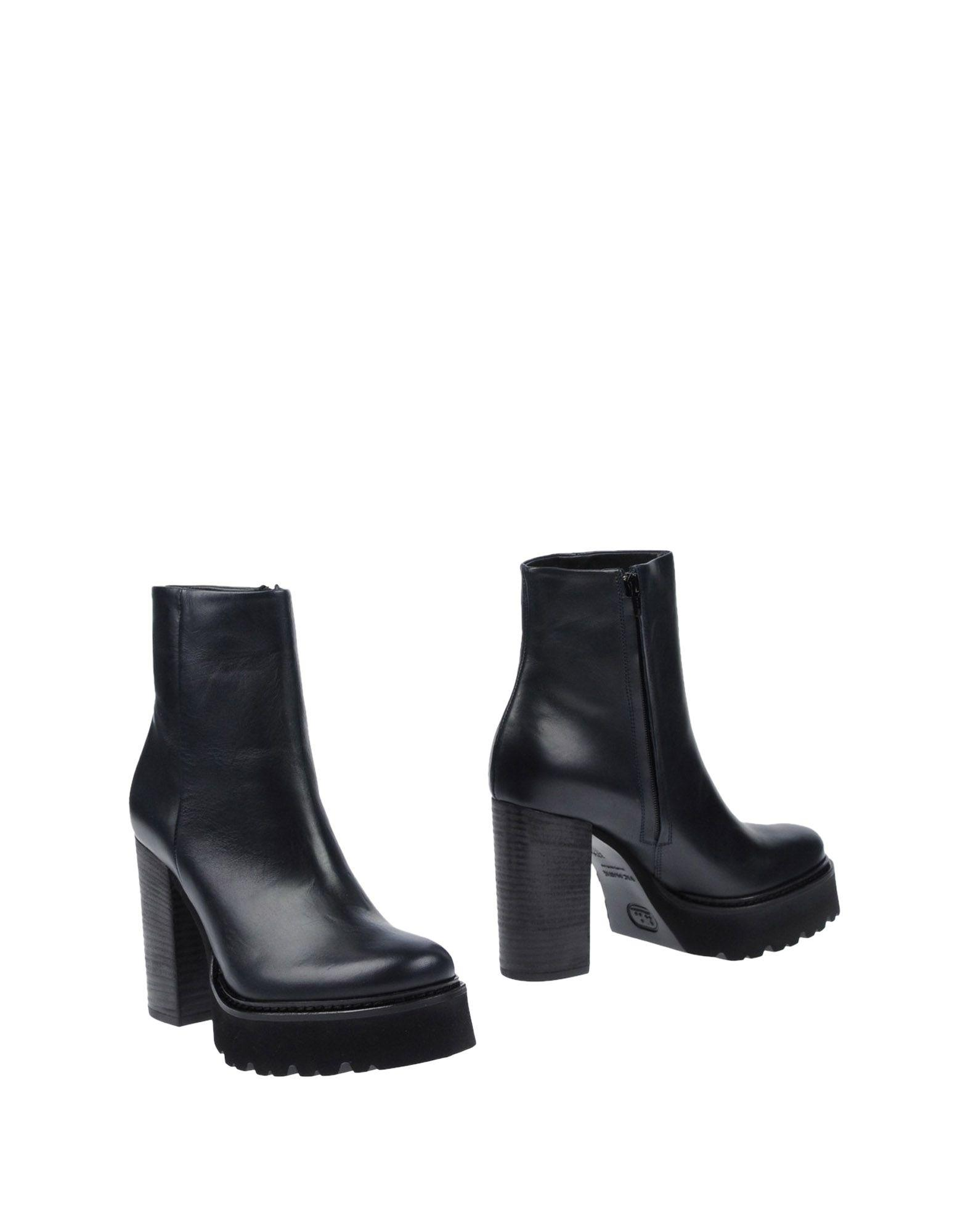 Vic Matie Ankle Boots In Dark Blue