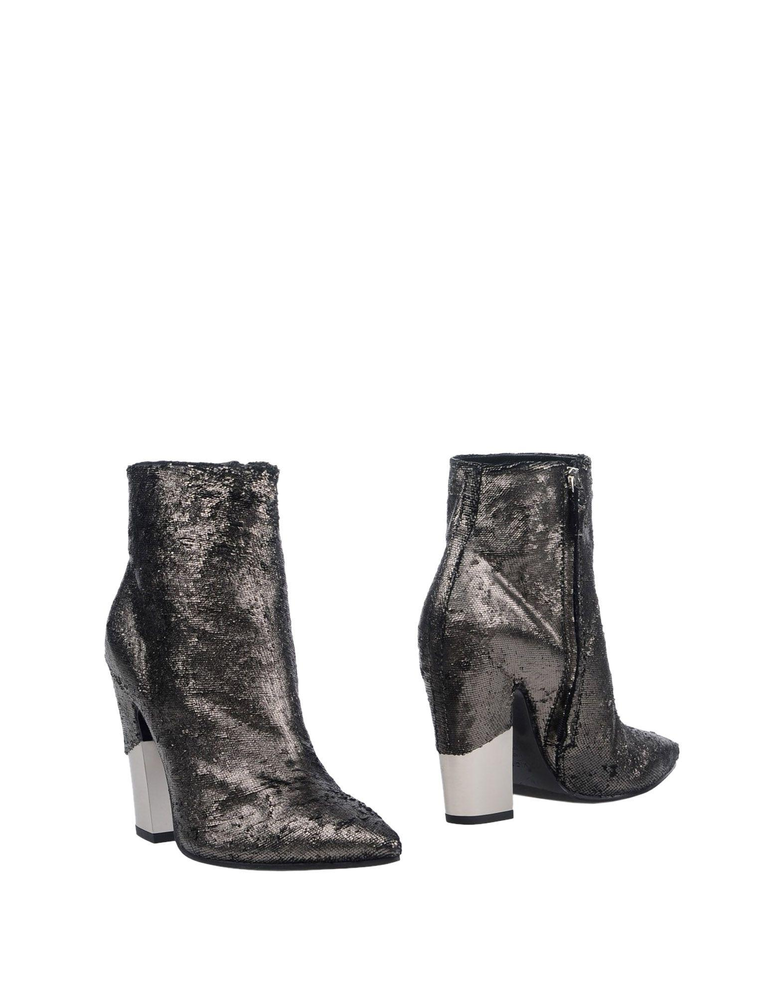 Vic Matie Ankle Boots In Lead