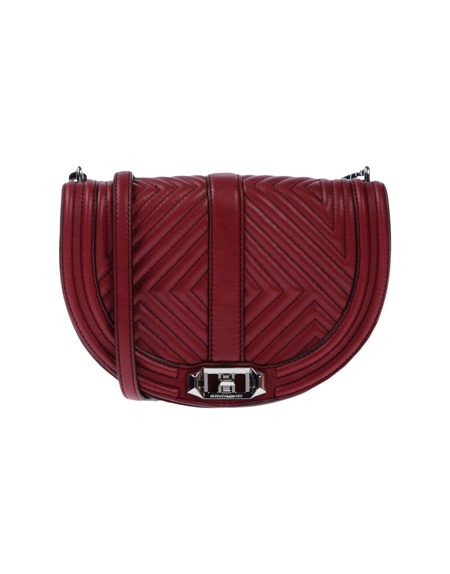 Rebecca Minkoff Handbags In Maroon