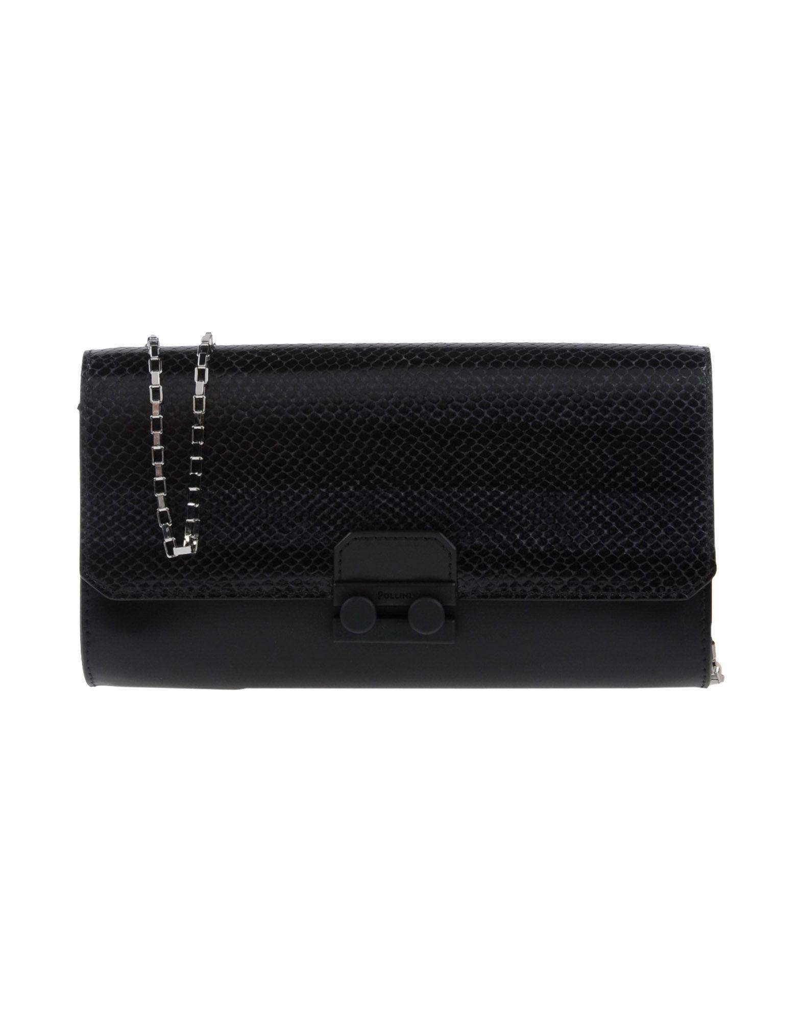Pollini Handbag In Black