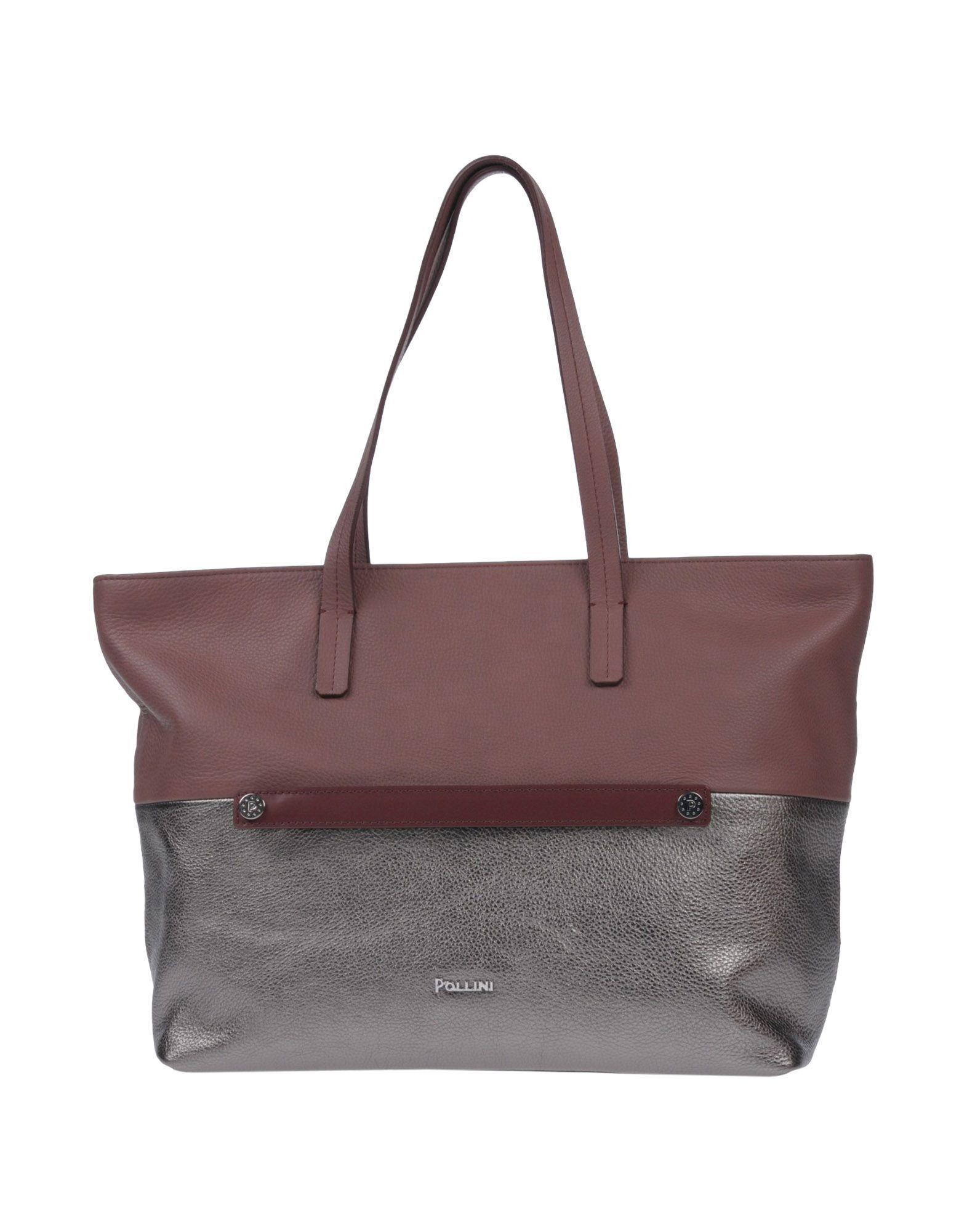 Pollini Handbag In Light Brown