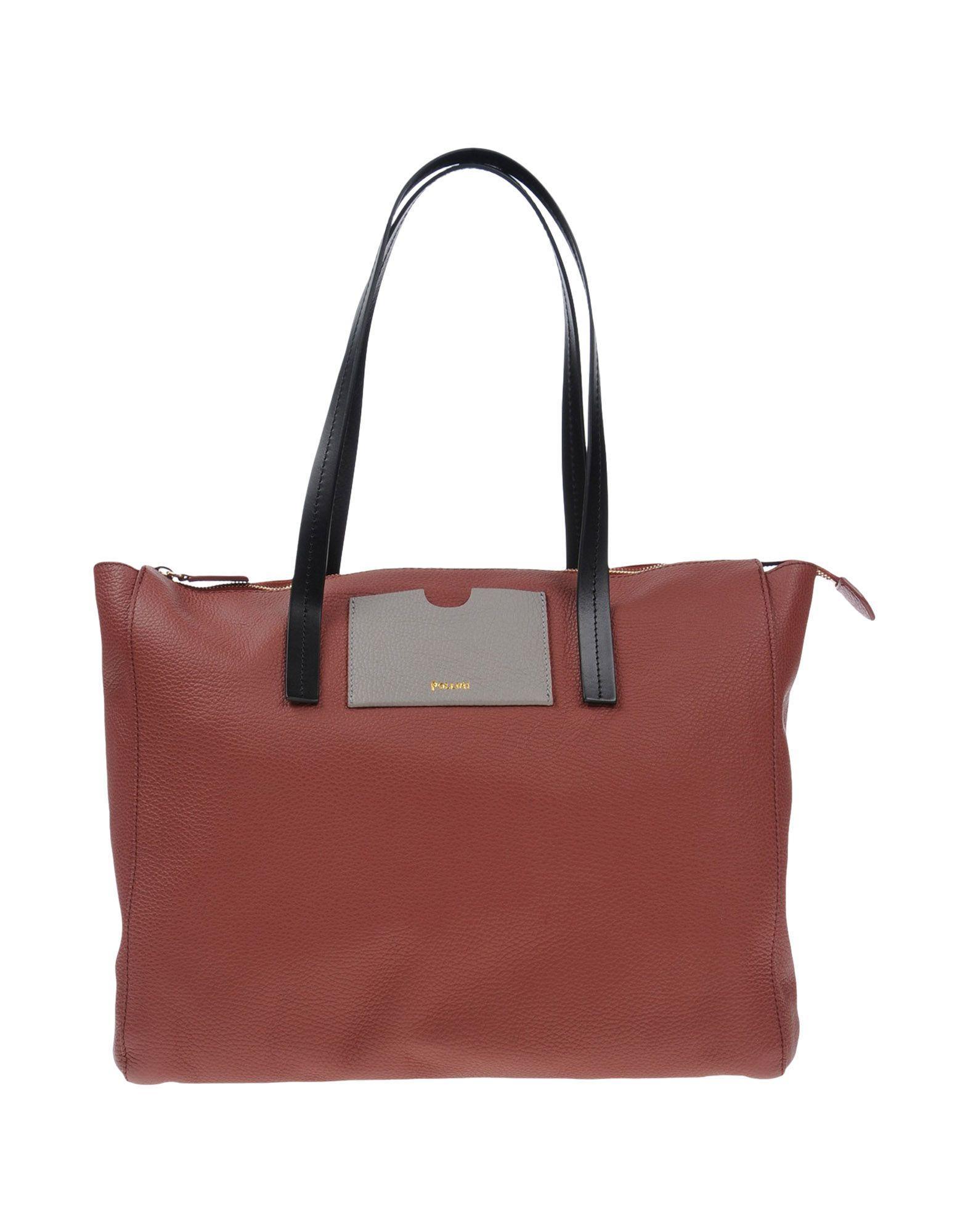 Pollini Handbag In Cocoa