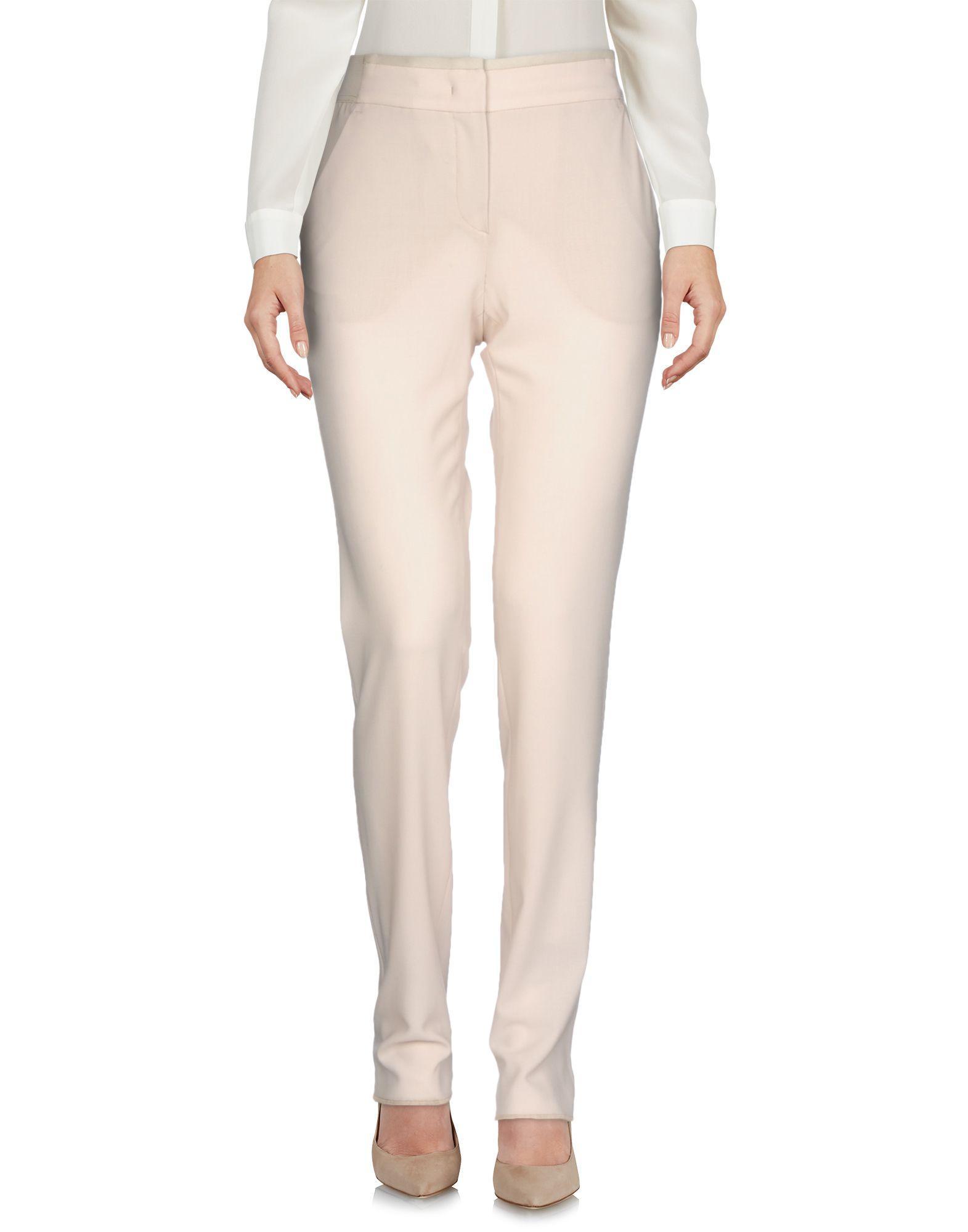 Armani Collezioni Casual Pants In Beige