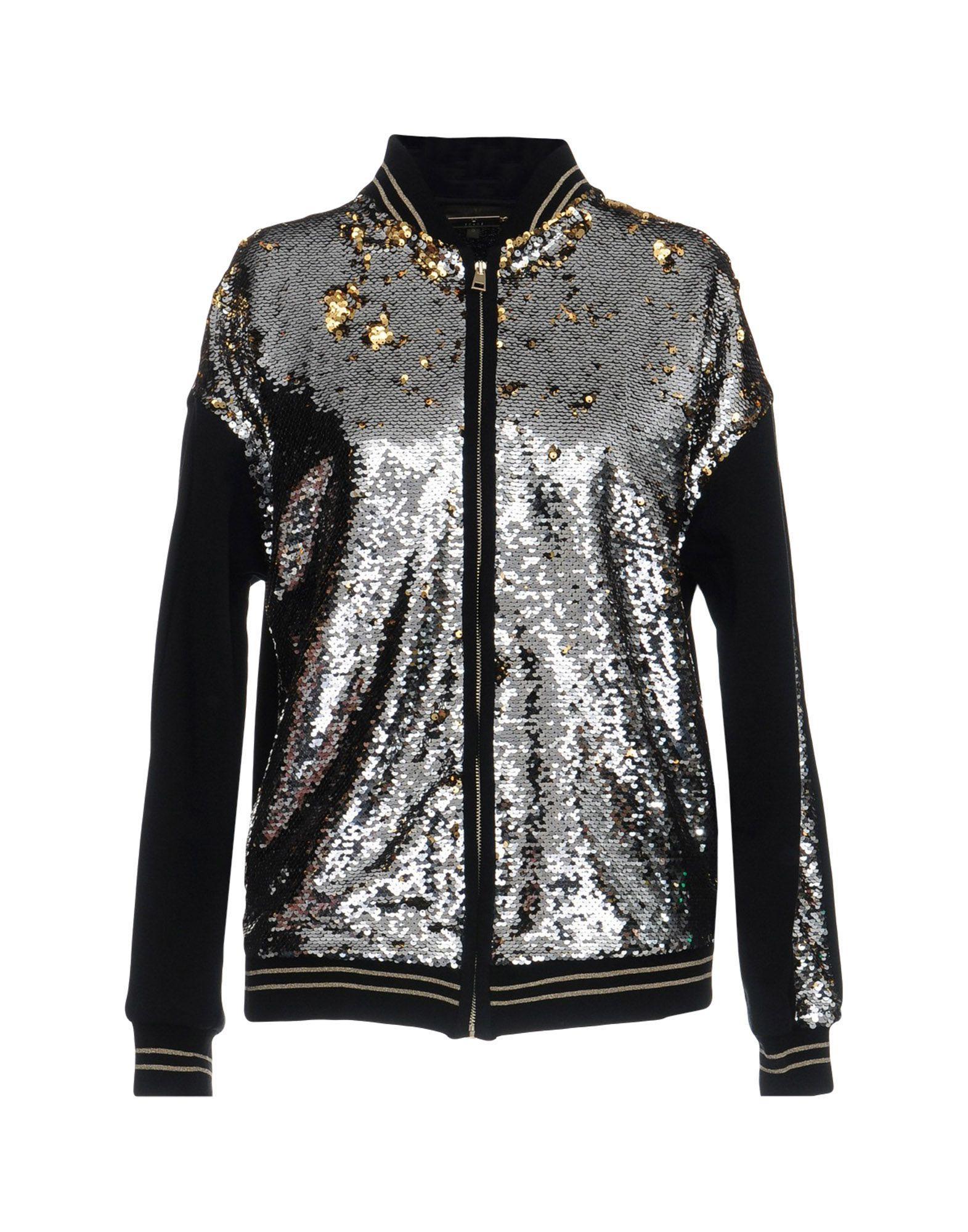 Space Style Concept Sweatshirt In Black