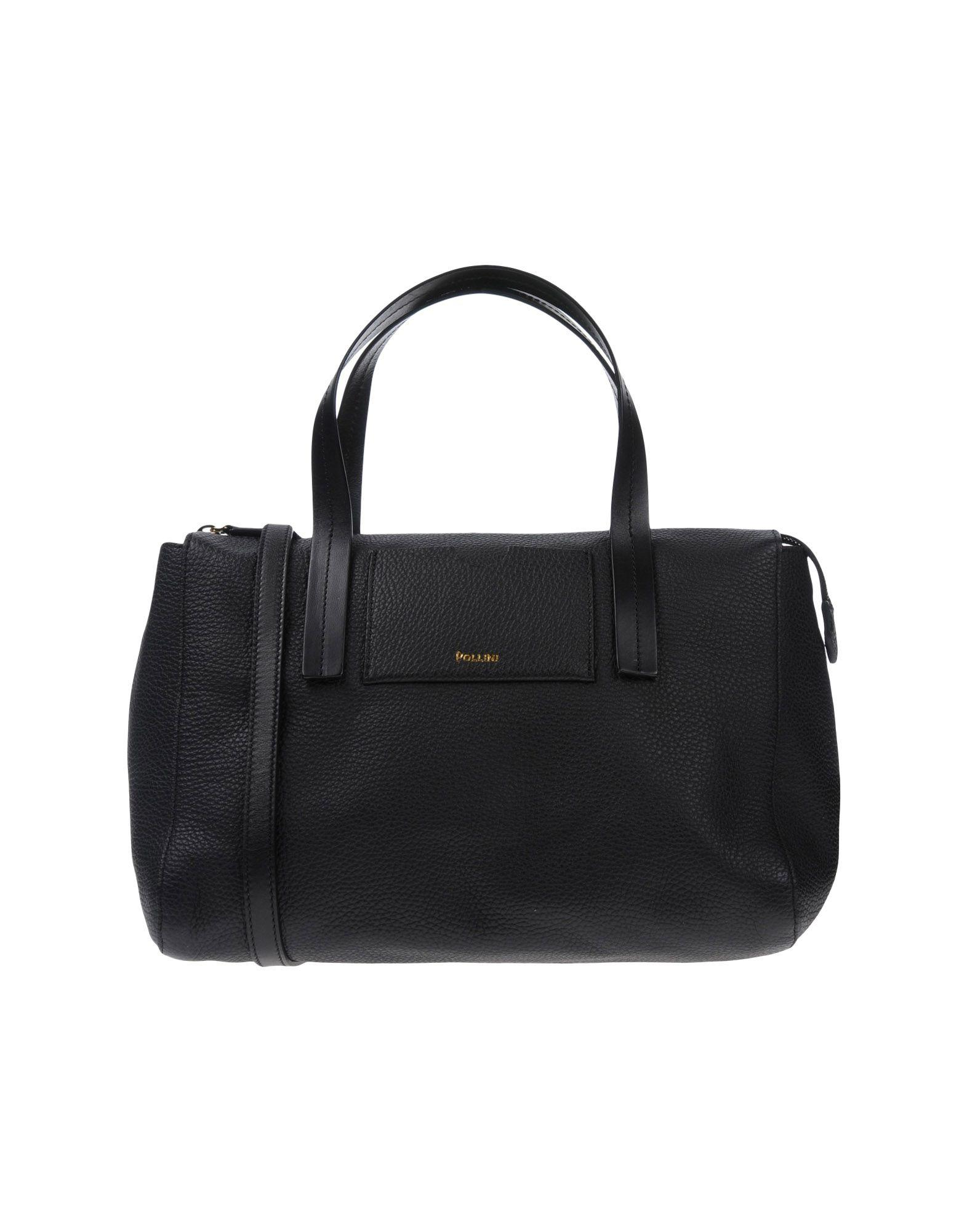 Pollini Handbags In Black