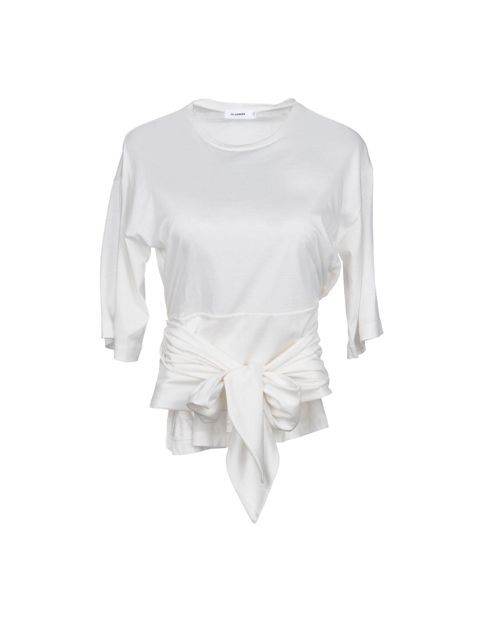 Jil Sander T-shirts In White