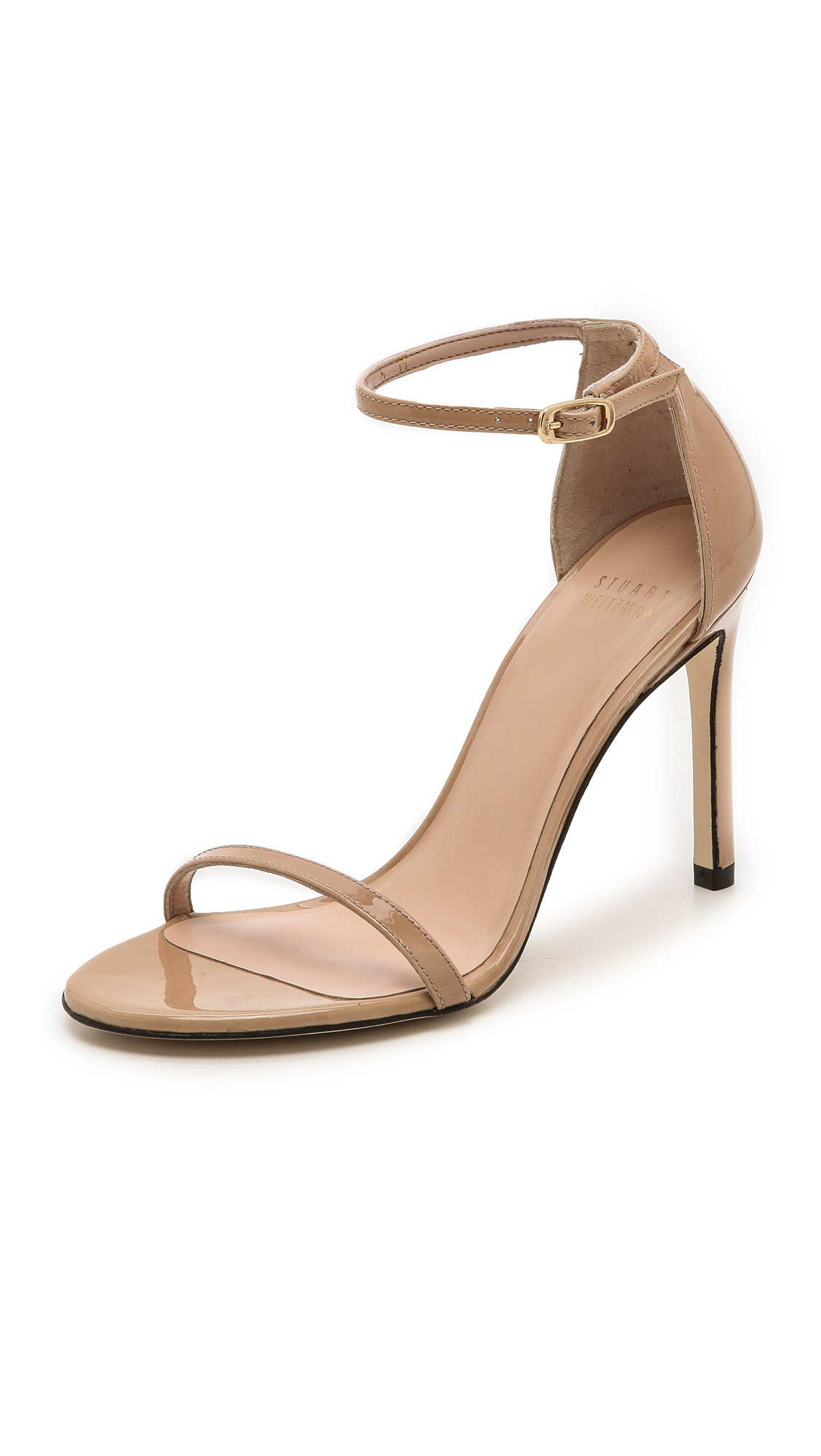 4dd9f31d9fb Stuart Weitzman Nudistsong 100Mm Sandals In Adobe