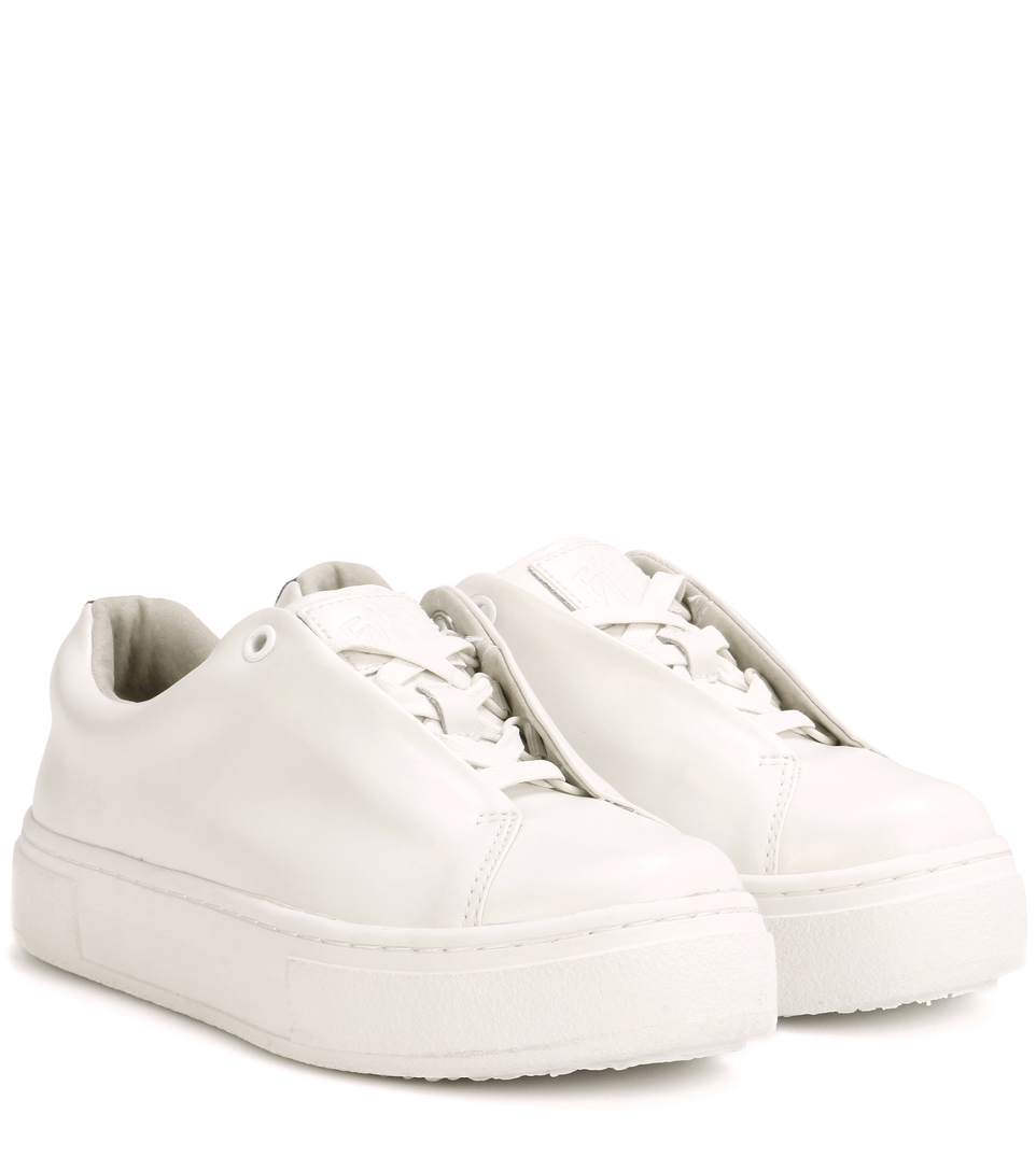 00e7ecfb438 Eytys Doja Leather Sneakers In White | ModeSens