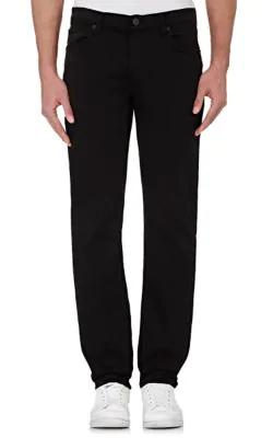 J Brand Kane Slim-Fit Luxe Terry Jeans, Keckley In Black