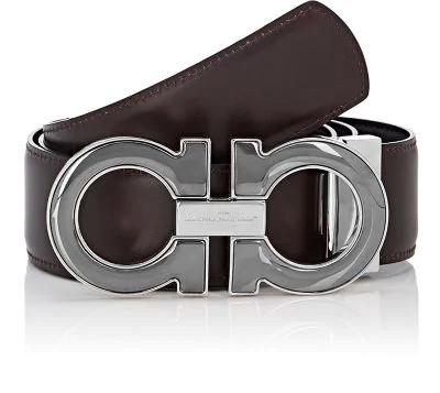 63bb4c24554 Salvatore Ferragamo Men s Reversible Leather Gancini-Buckle Belt ...