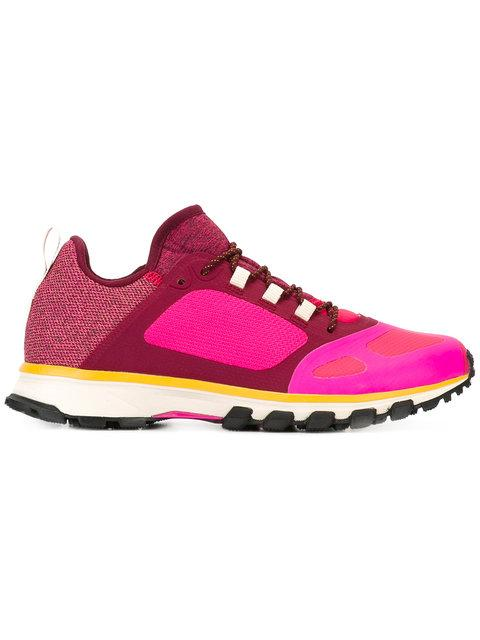 Adidas By Stella Mccartney Adizero Xt Low-Top Running Sneakers In Pink