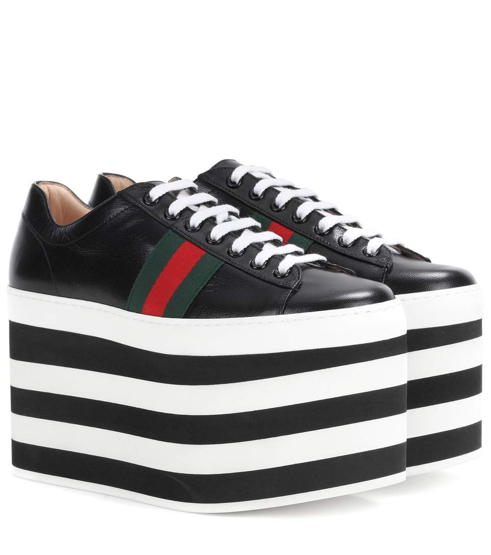 a6218e86940f Gucci Peggy Platform Sneakers