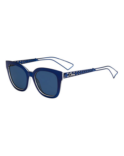 3cc2bbb66aa DIOR AMA CAGED MIRRORED SUNGLASSES