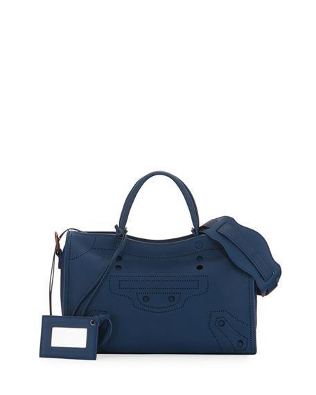 ab6bedfb6a99 Balenciaga Blackout City Small Shoulder Bag