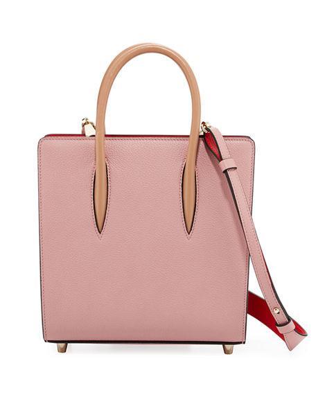 29ca58f5550 Small Paloma Empire Leather Tote - Purple in Pink
