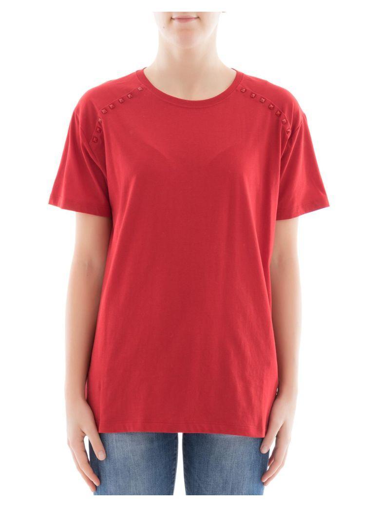 Valentino Red Cotton T-Shirt